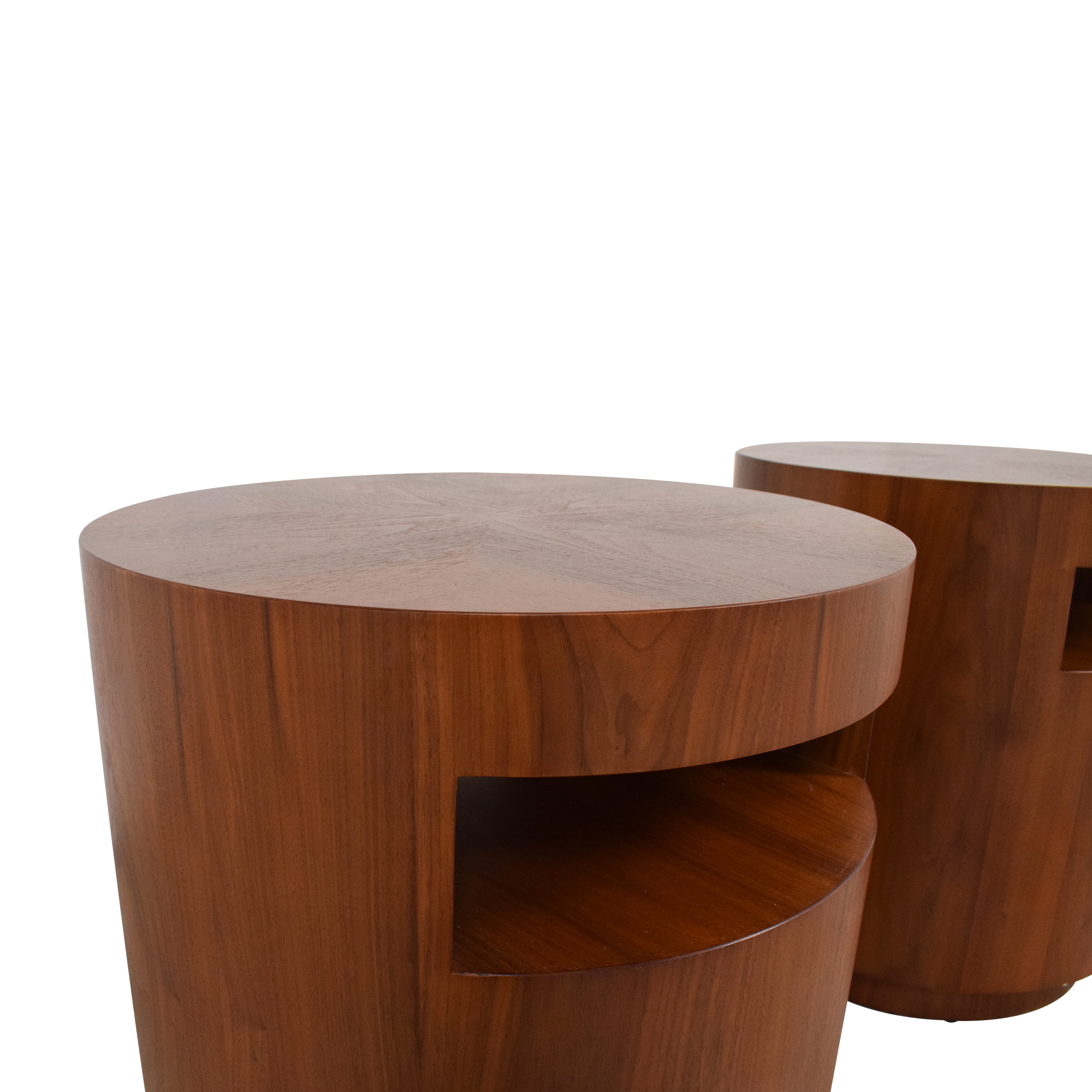 buy Crate & Barrel Tambe End Tables Crate & Barrel