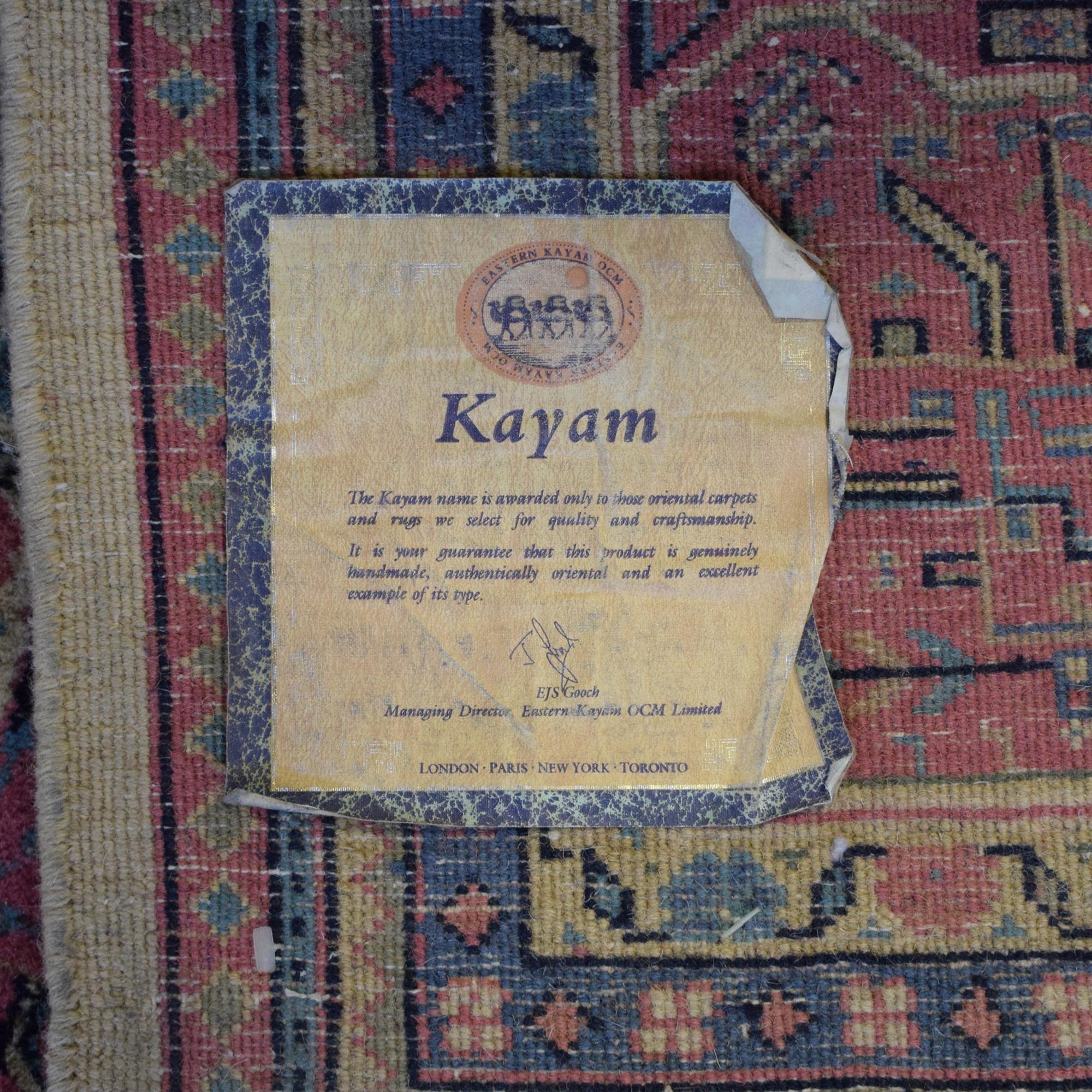 Kayam Kayam Oriental Rug used