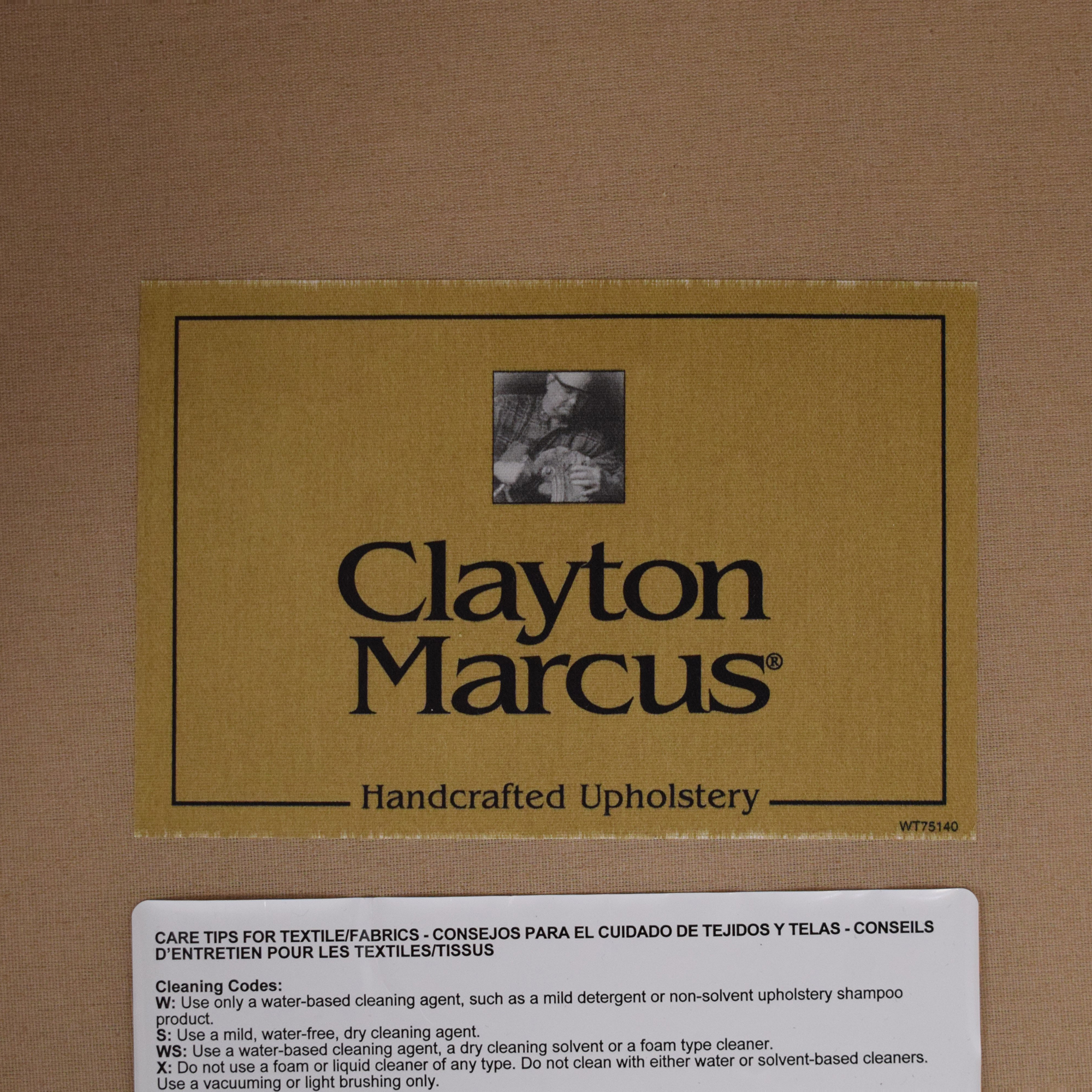 Clayton Marcus Clayton Marcus Lauren Chair gold