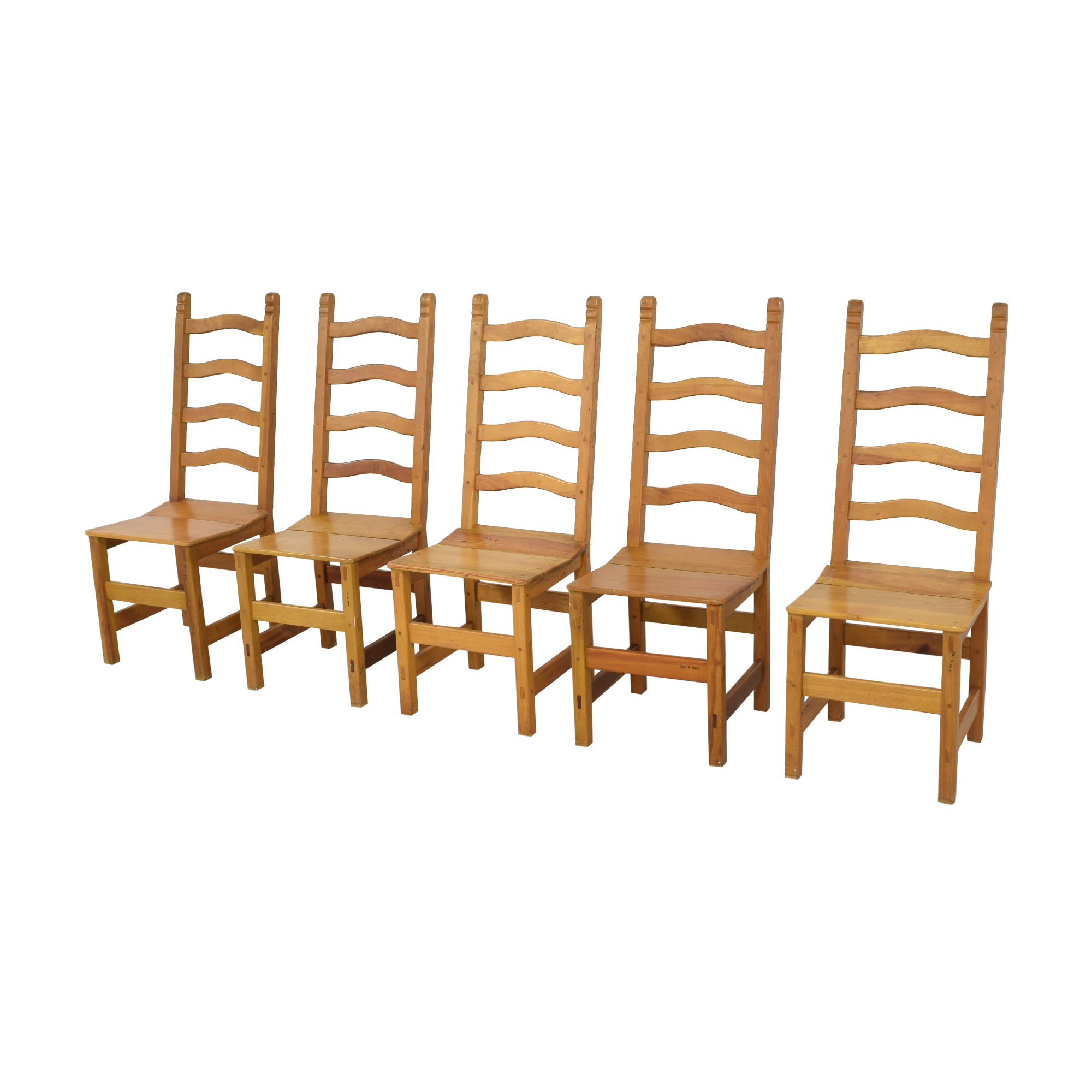 buy Ladder Back Chiliean Dining Chairs  Chairs