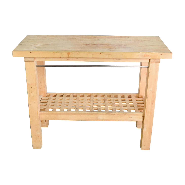 Ikea Butcher S Block Table
