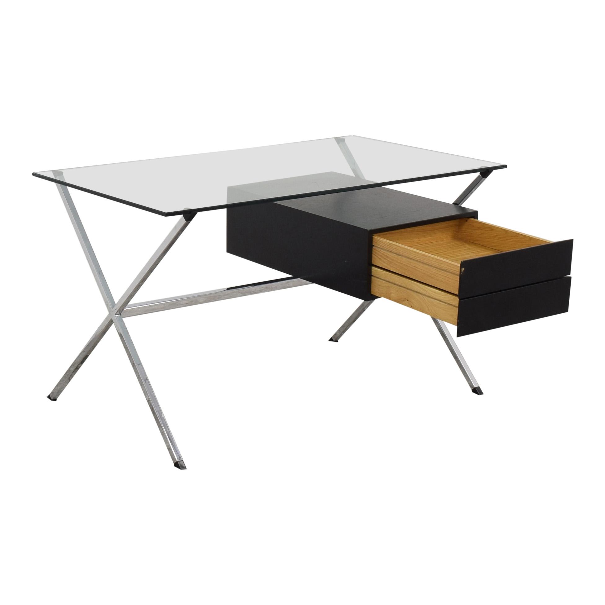 Knoll Knoll Albini Desk black & silver
