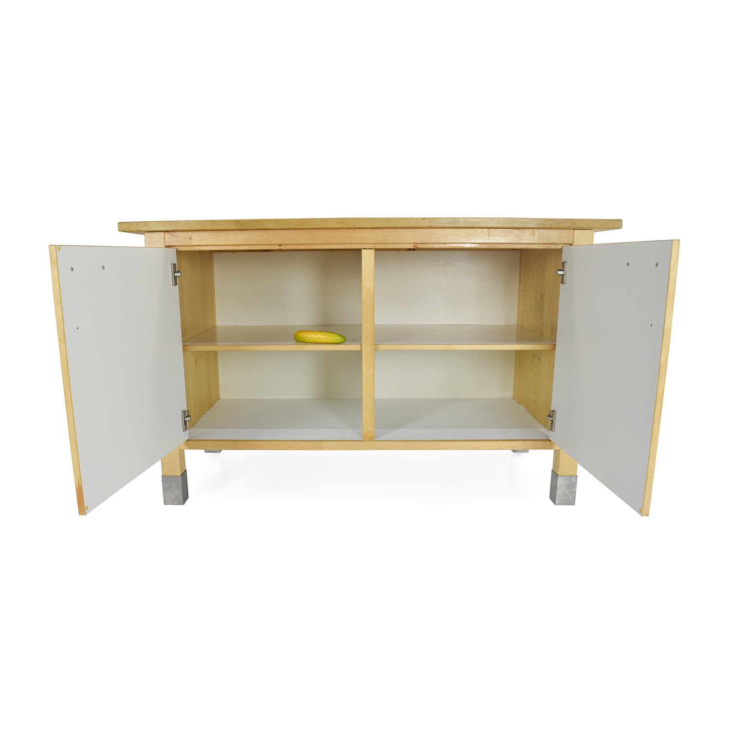 82 off ikea kitchen block cabinet table storage for Kitchen table with storage