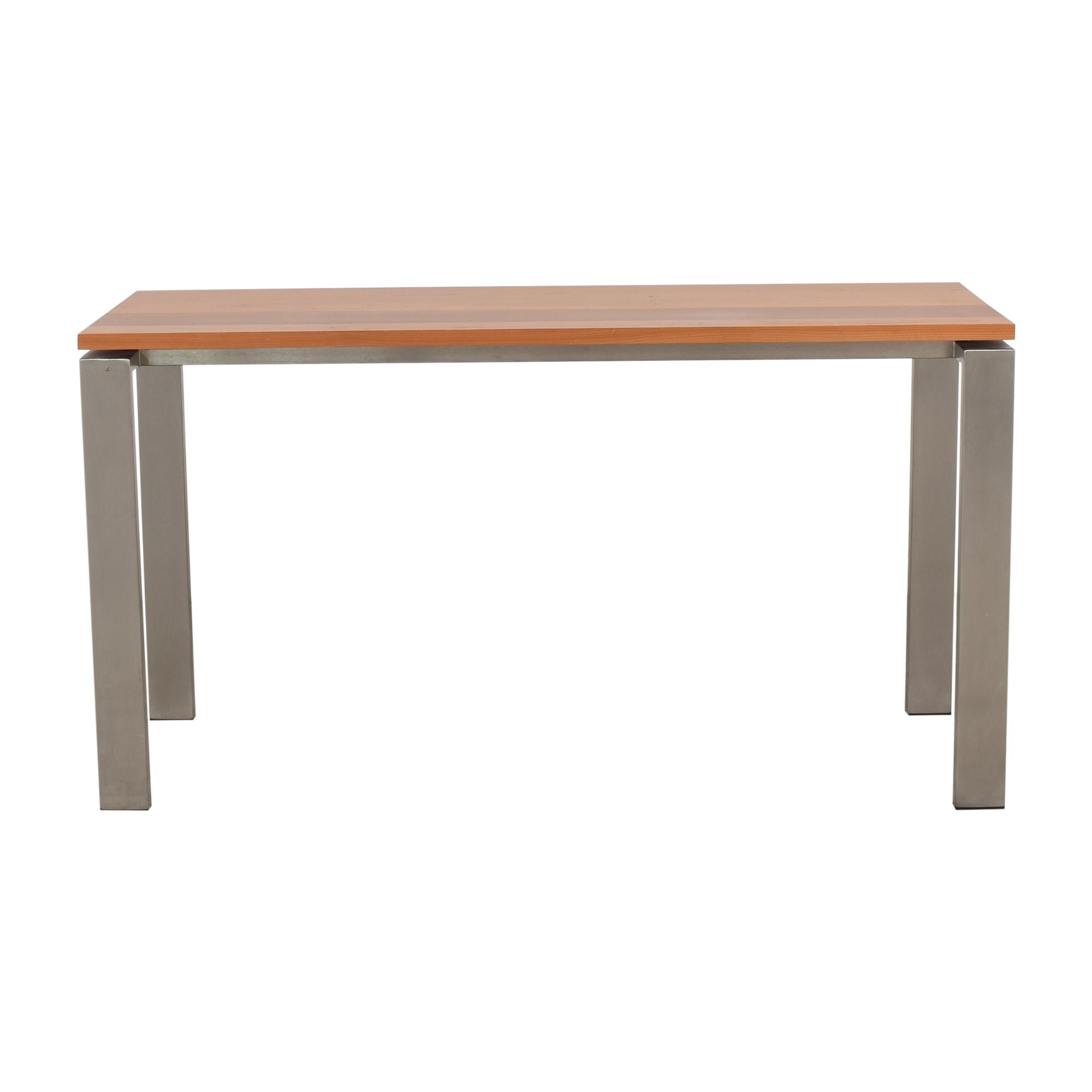 Room & Board Room & Board Rand Desk in Stainless Steel Home Office Desks