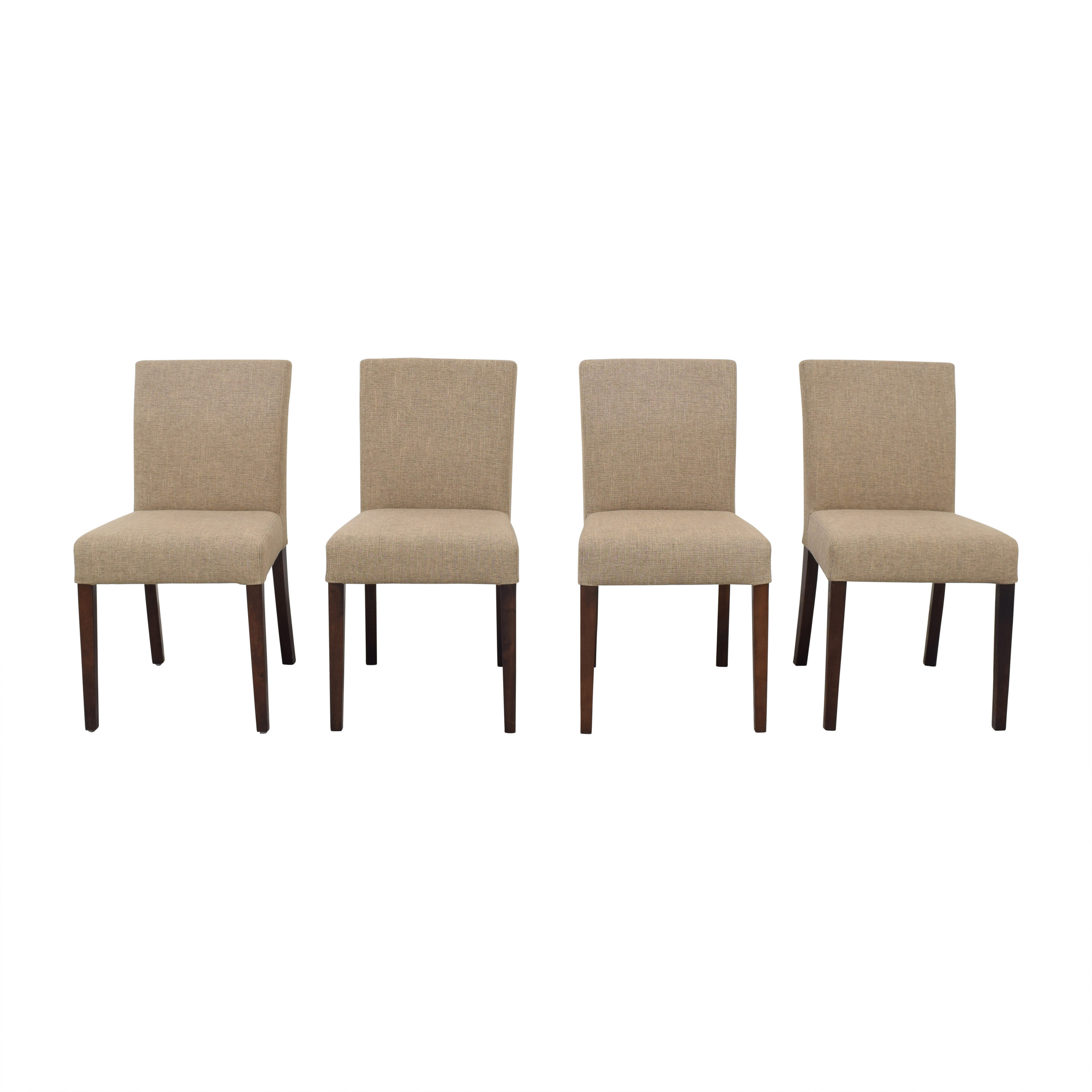 shop Crate & Barrel Lowe Dining Chairs Crate & Barrel Chairs