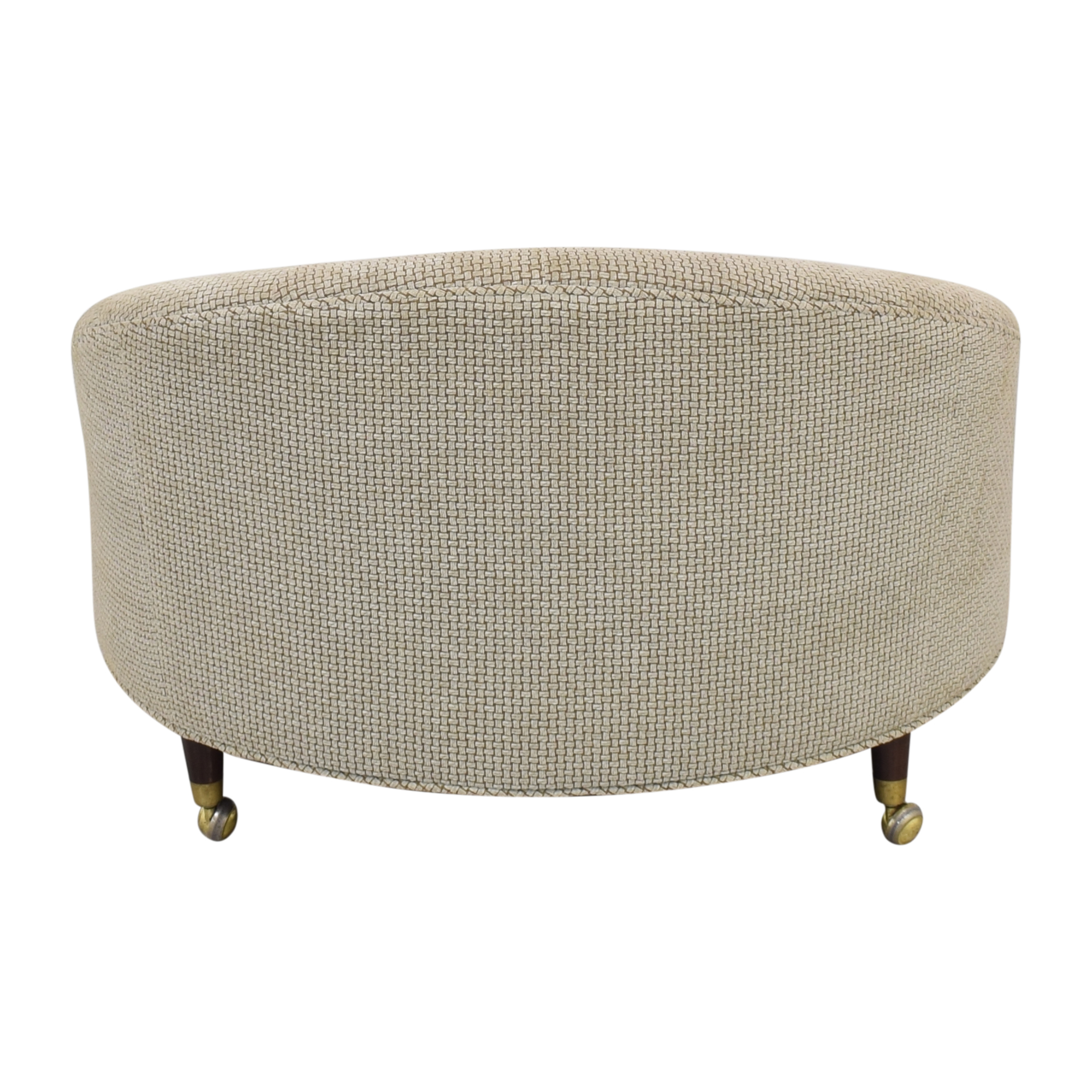 Tufted Barrel Lounge Chair discount