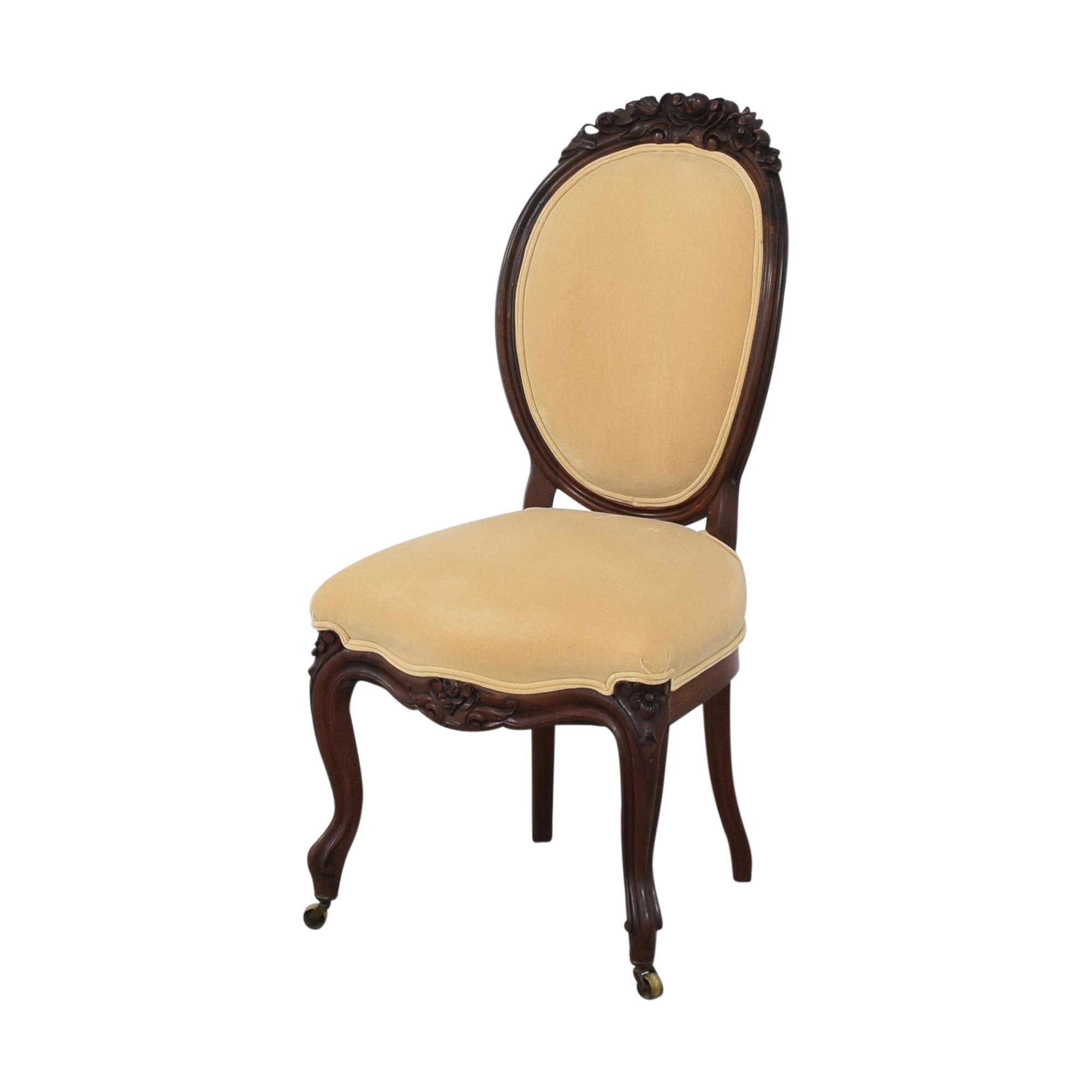shop Rounded Back Upholstered Side Chairs