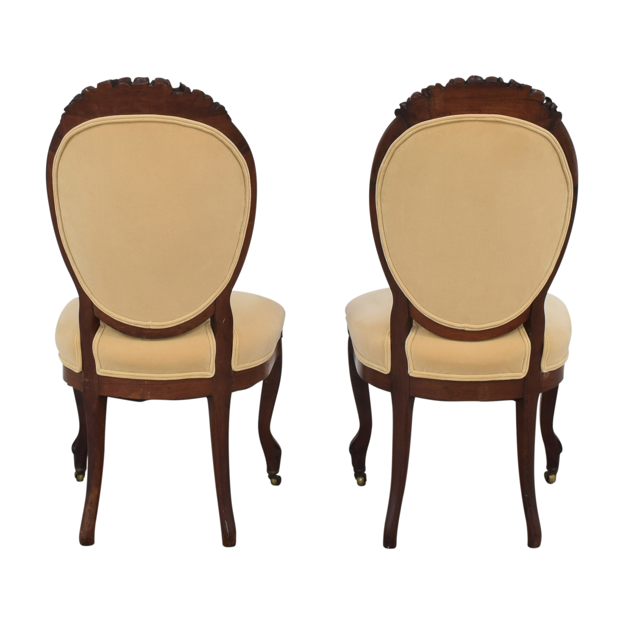 Rounded Back Upholstered Side Chairs / Chairs