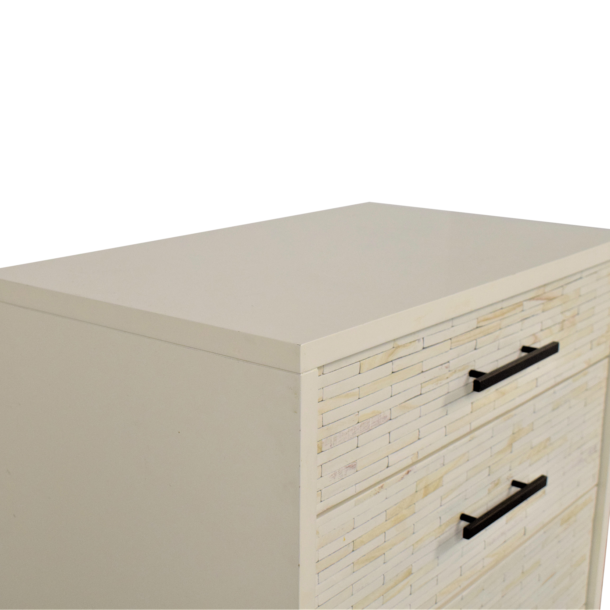 shop West Elm West Elm Wood Tiled 5-Drawer Dresser online