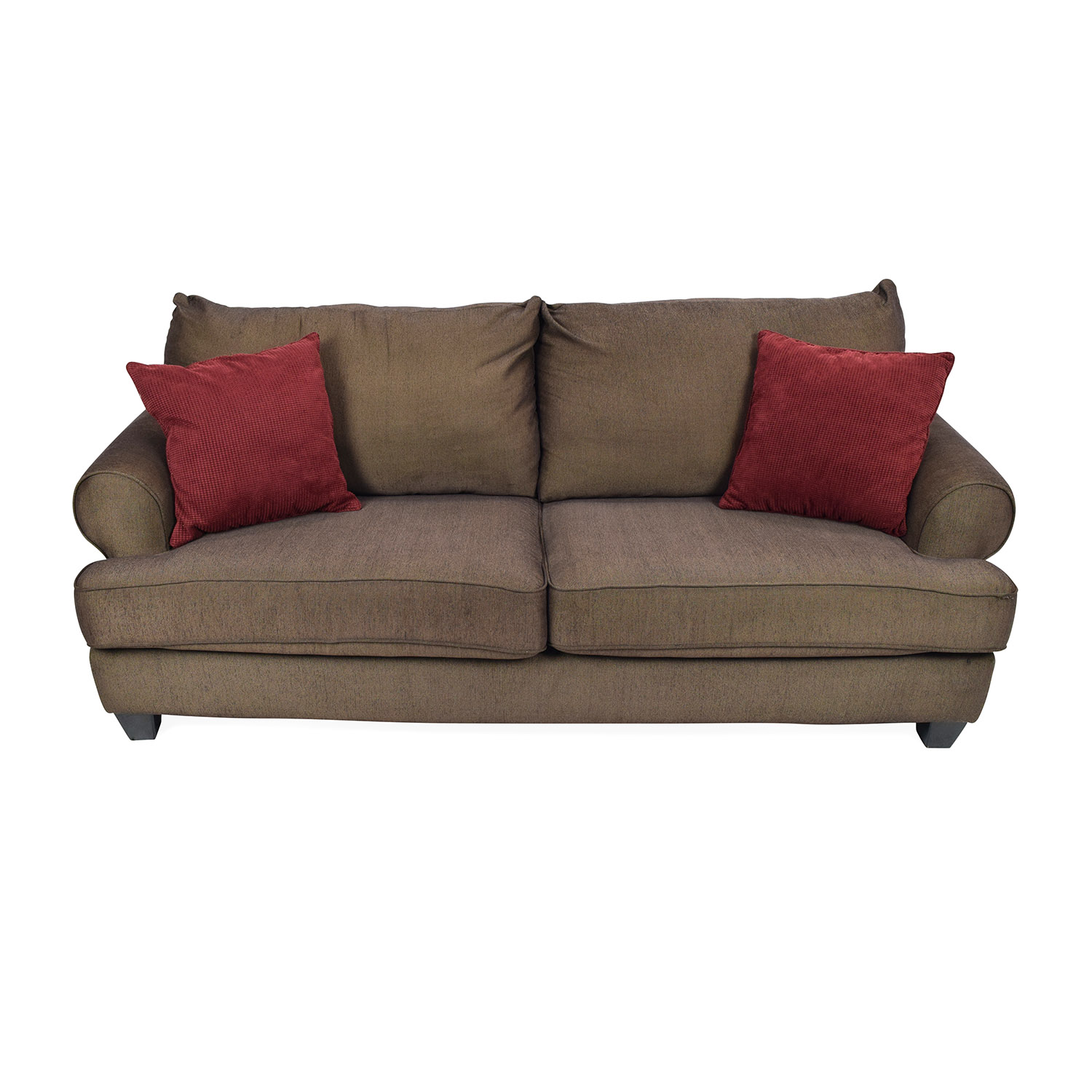 shop Brown Fabric Sofa
