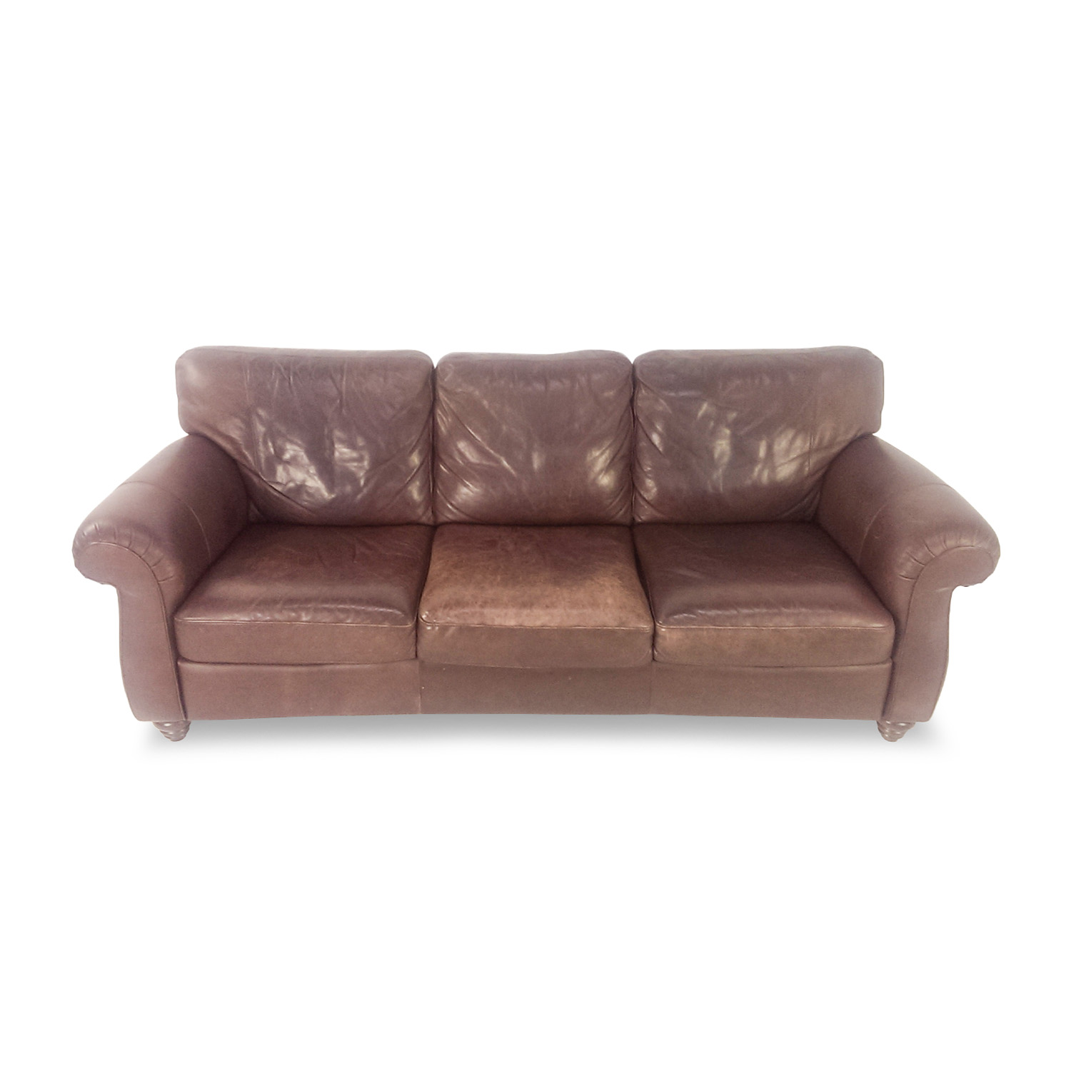 second hand brown leather sofa www gradschoolfairs com Cream Leather Sofa Pink Leather Sofa