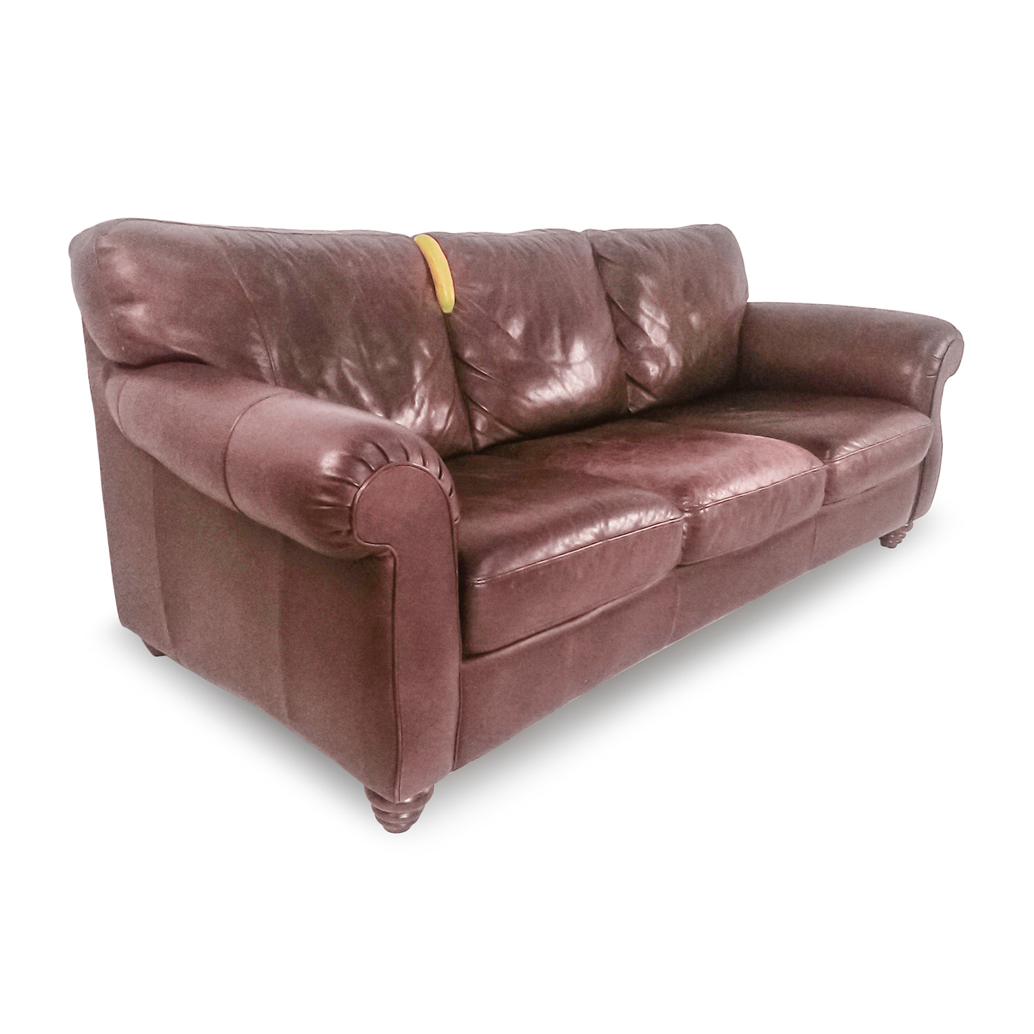 85 Off Natuzzi Natuzzi Brown Leather Couch Sofas