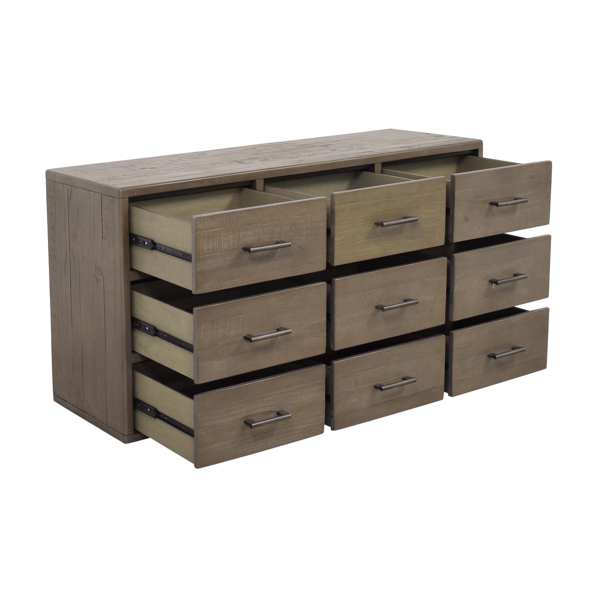 Macy's Macy's Brandon 9 Drawer Dresser