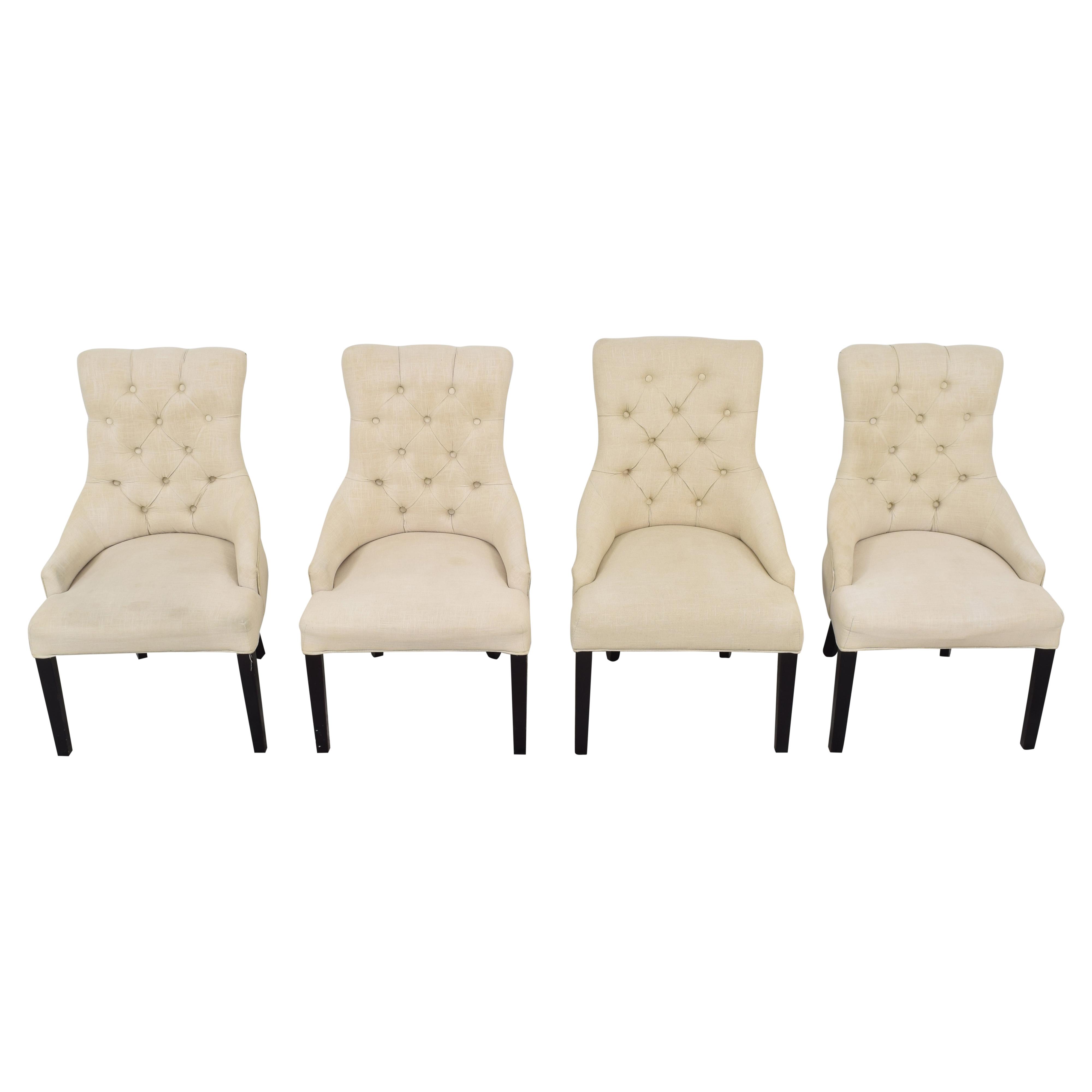 Macy's Macy's Marais Dining Parsons Chairs nj