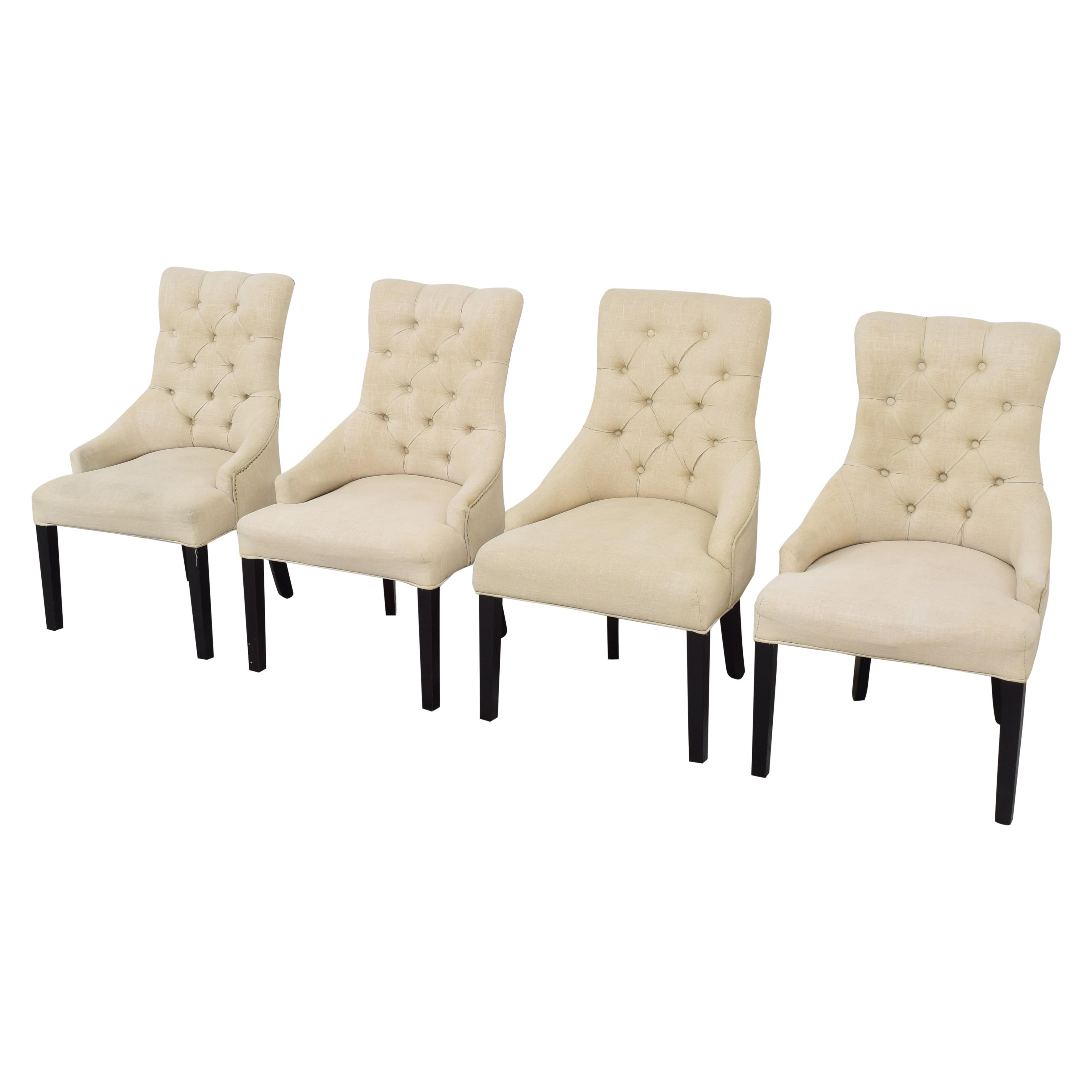 Macy's Macy's Marais Dining Parsons Chairs used