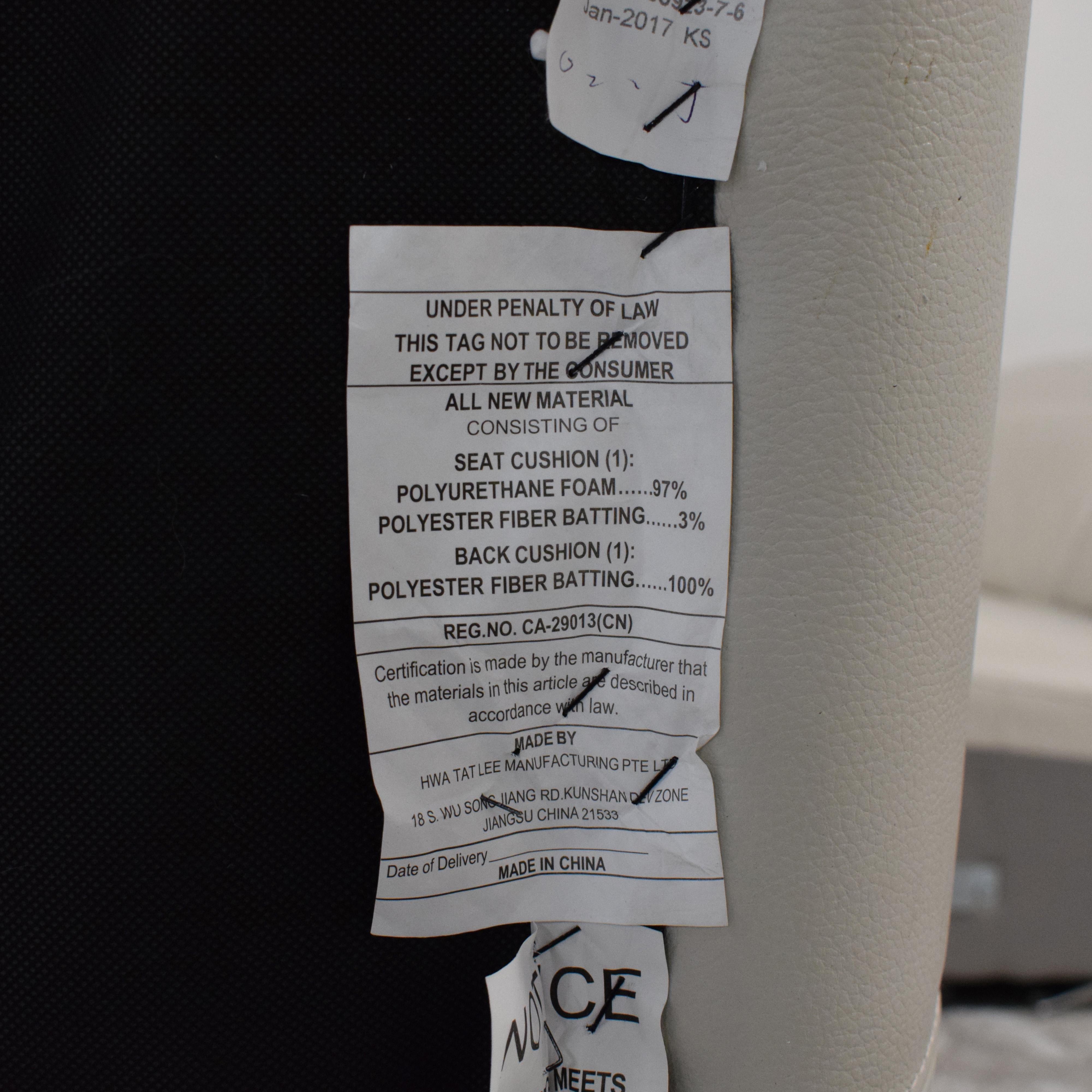 Macy's Macy's Power Reclining Sectional Sofa
