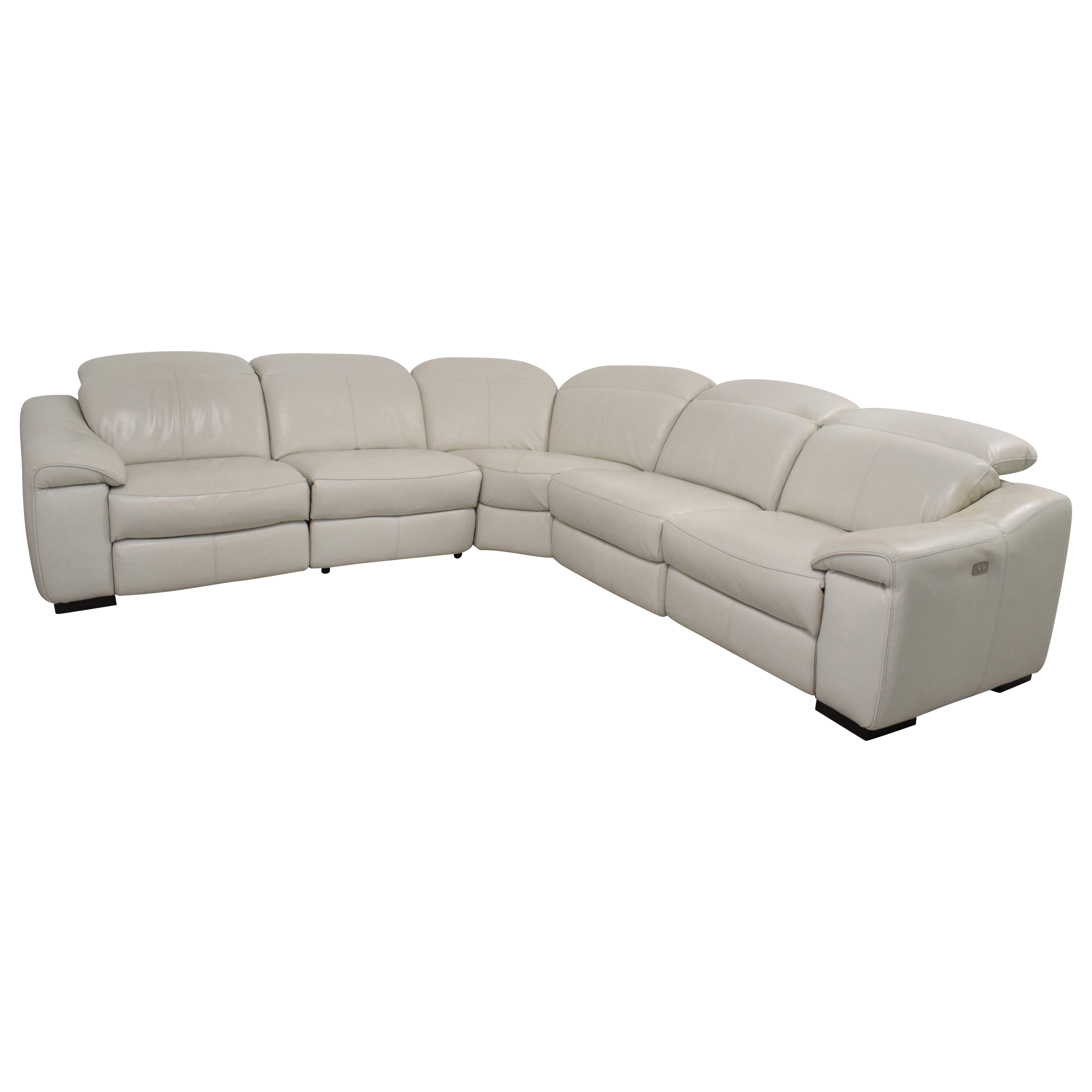 Macy's Macy's Power Reclining Sectional Sofa used