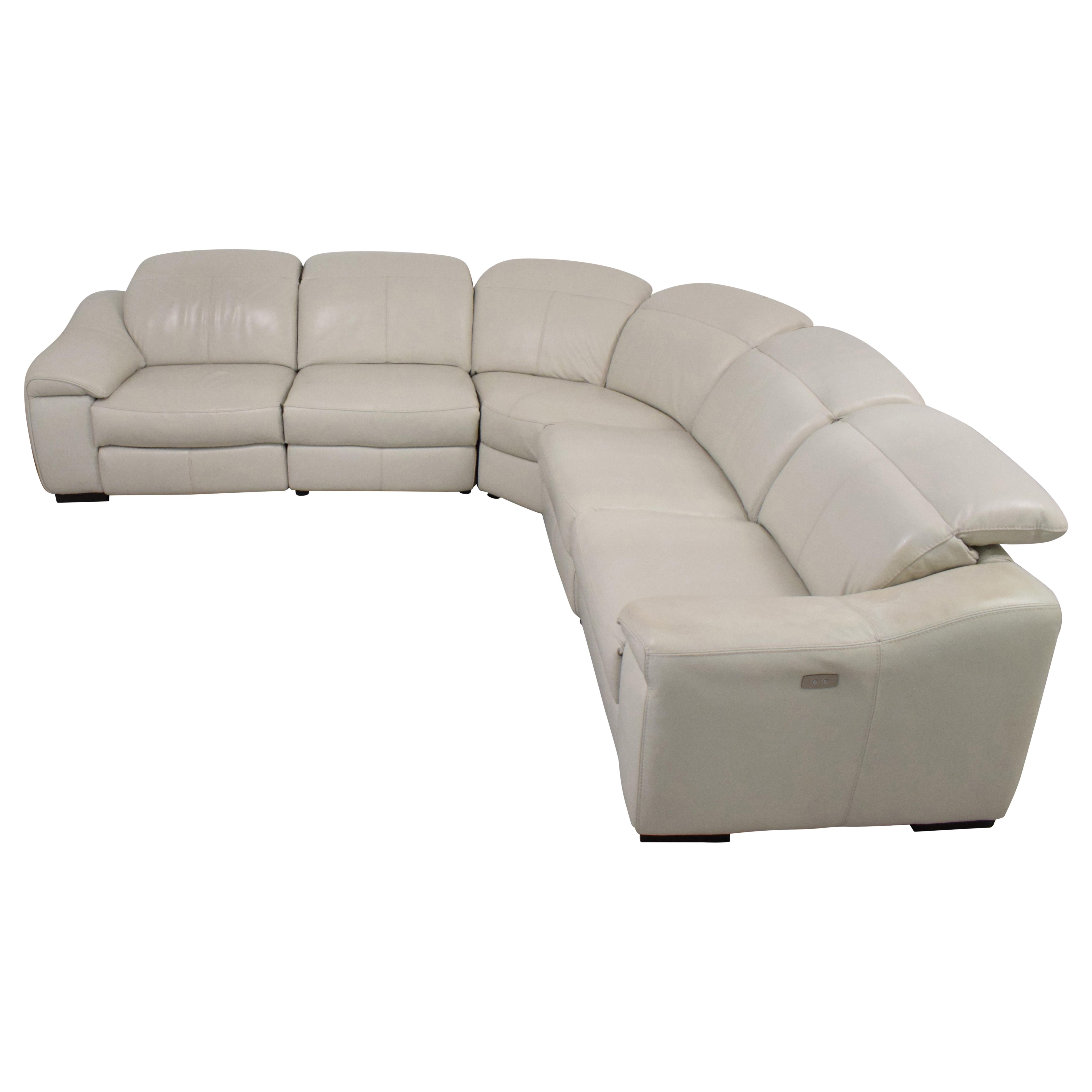 Macy's Macy's Power Reclining Sectional Sofa pa