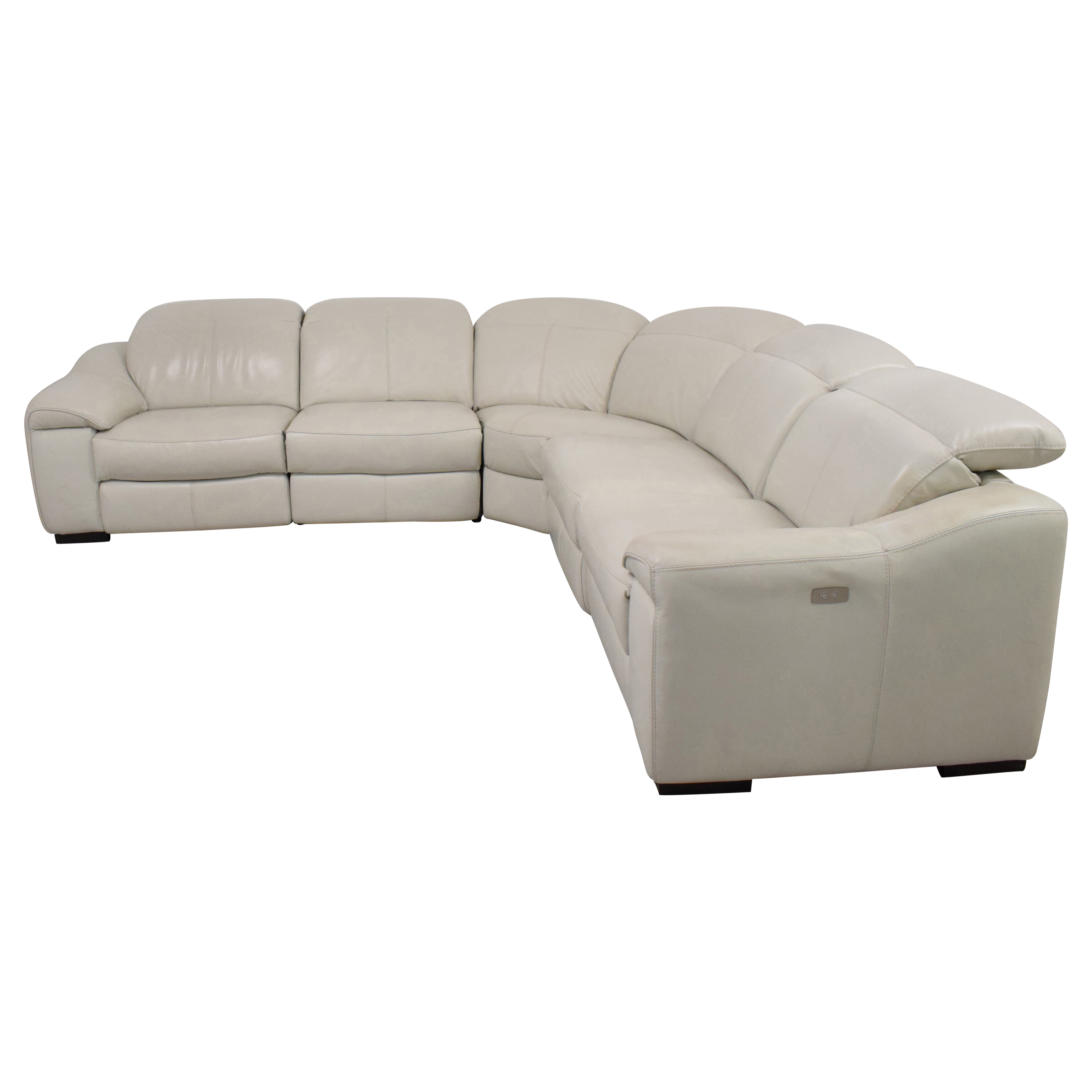 buy Macy's Power Reclining Sectional Sofa Macy's