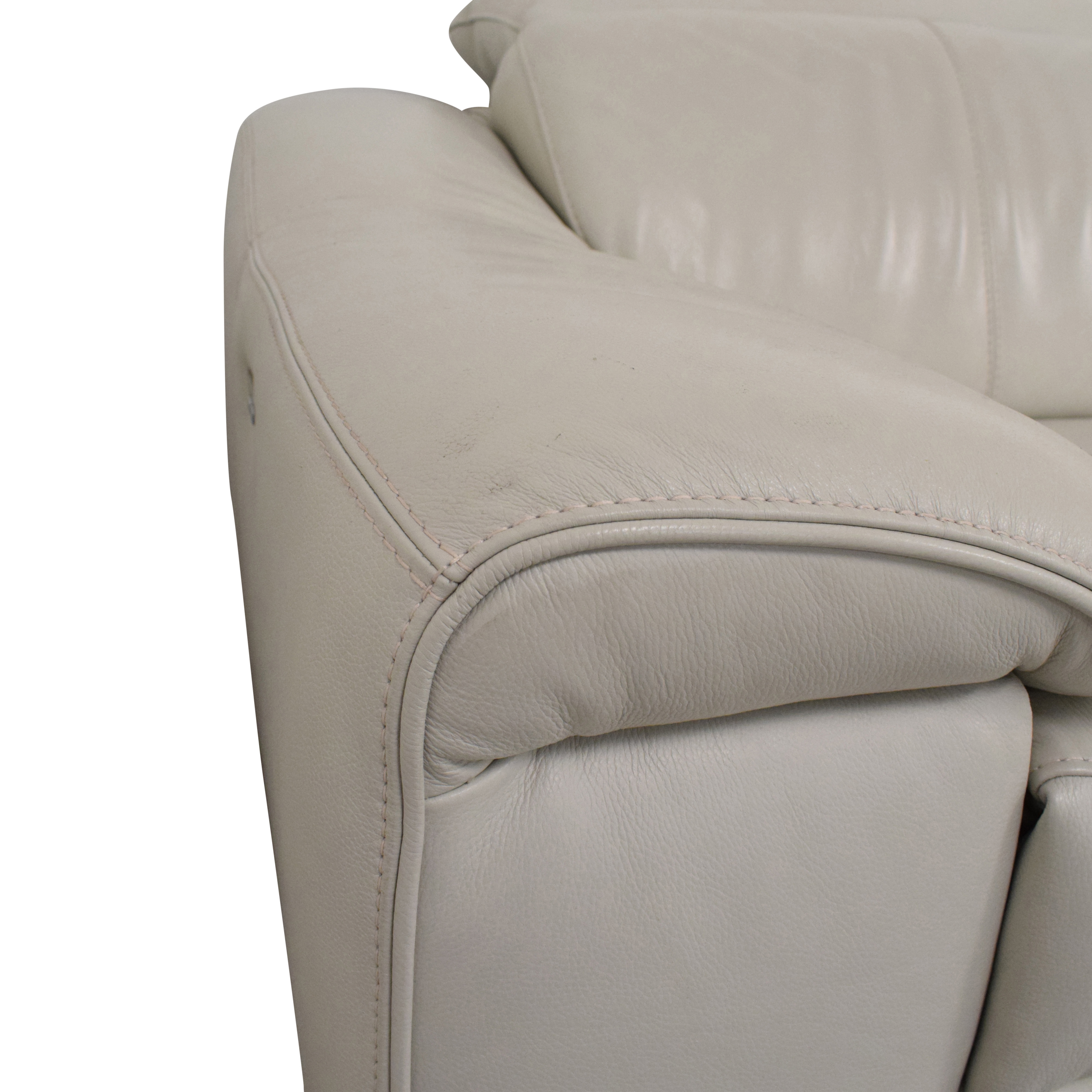 Picture of: 87 Off Macy S Macy S Power Reclining Sectional Sofa Sofas