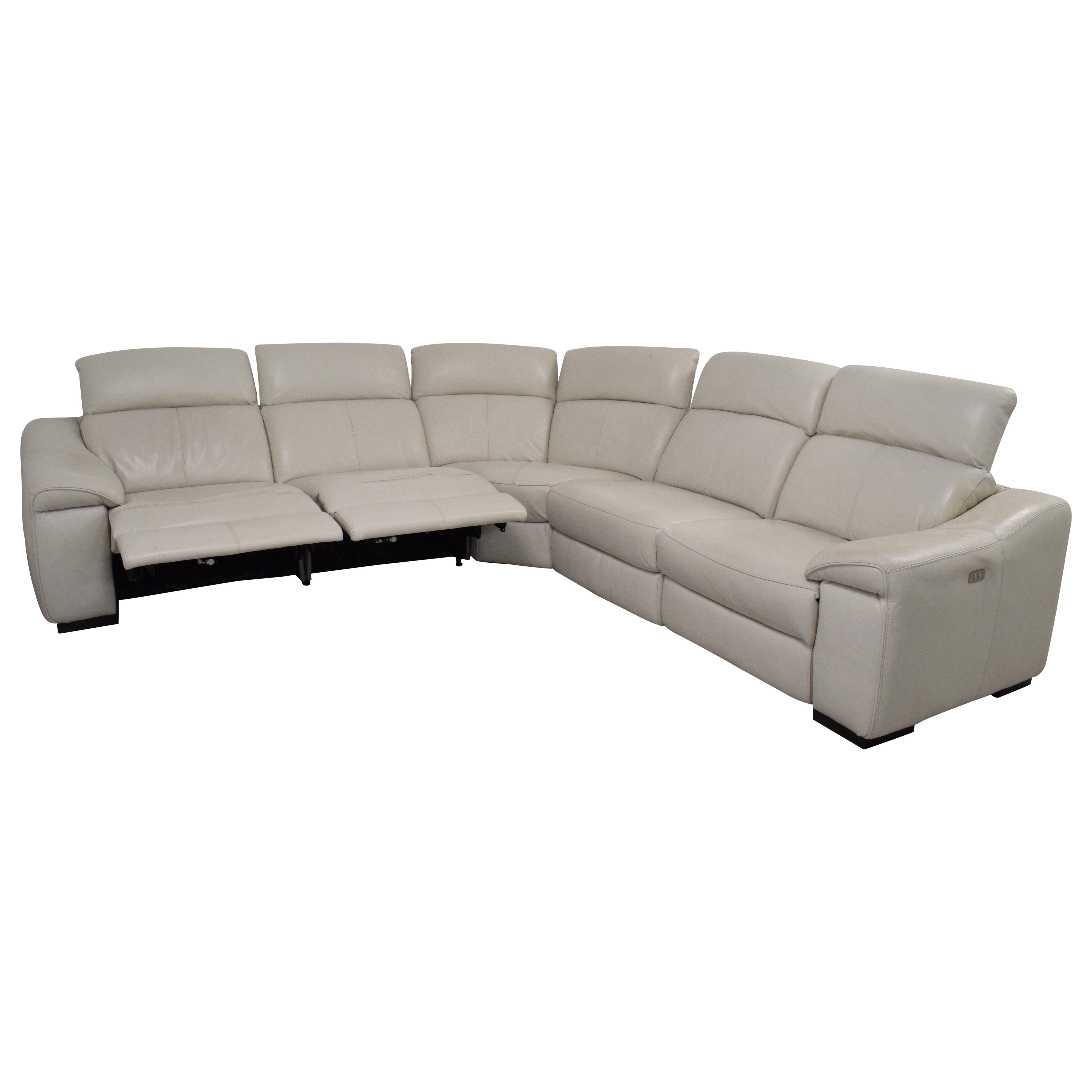 87 Off Macy S Macy S Power Reclining Sectional Sofa Sofas