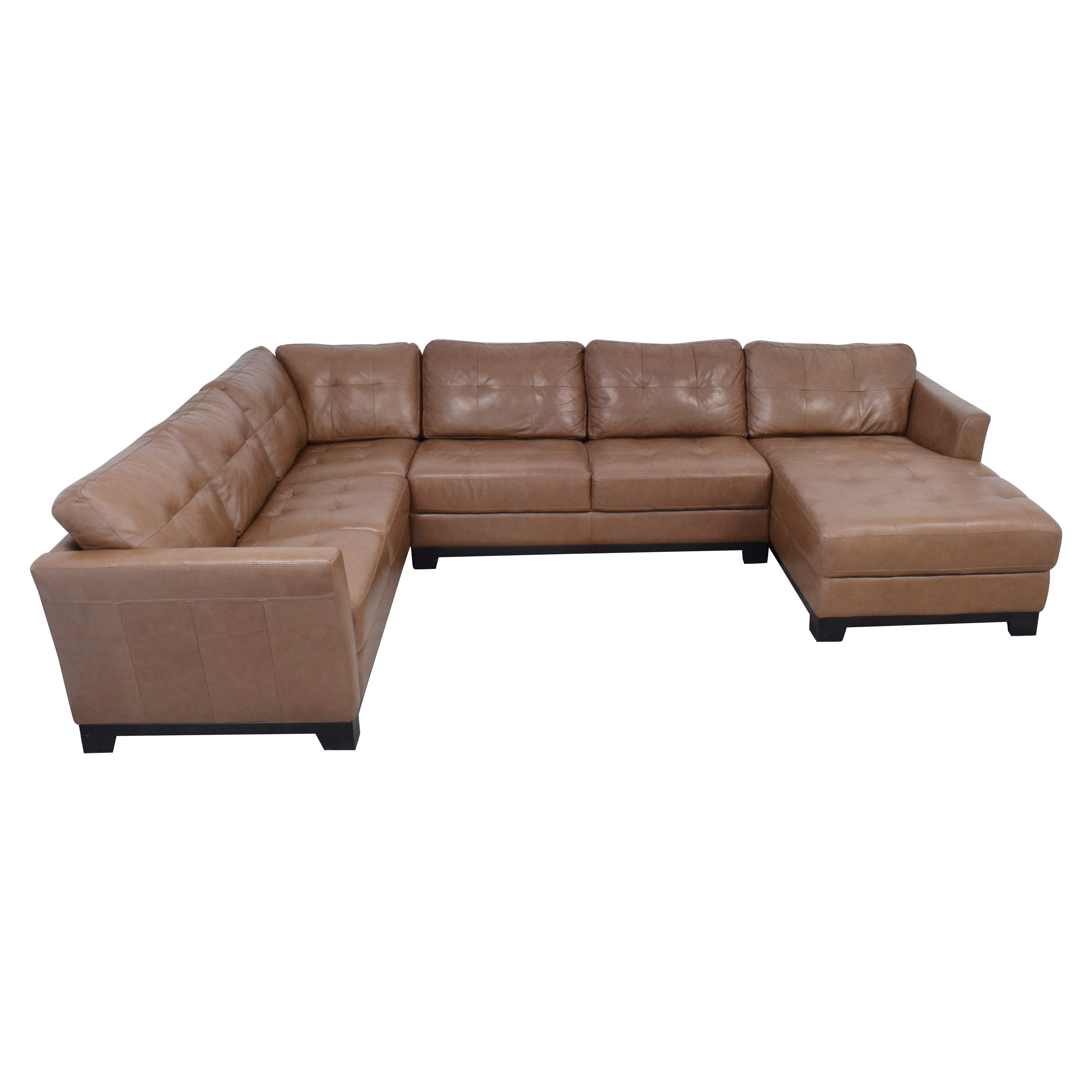 Chateau d'Ax Chateau d'Ax Sectional Sofa with Chaise ct
