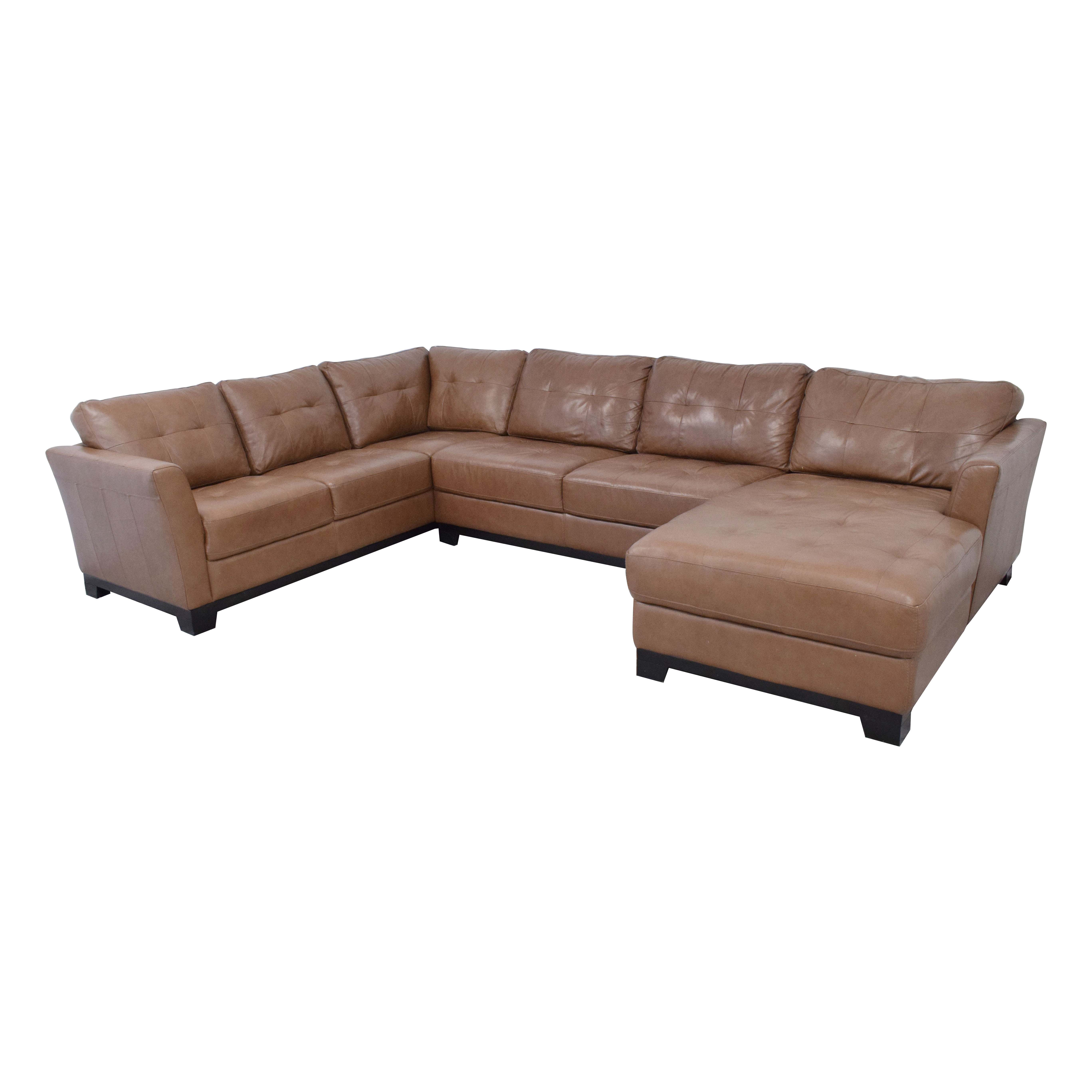 Chateau d'Ax Chateau d'Ax Sectional Sofa with Chaise nj
