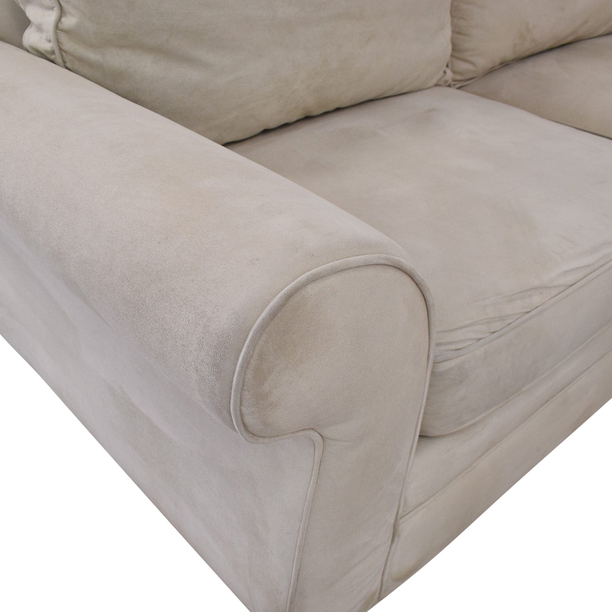 Pottery Barn Pearce Roll Arm Wedge Sectional Pottery Barn
