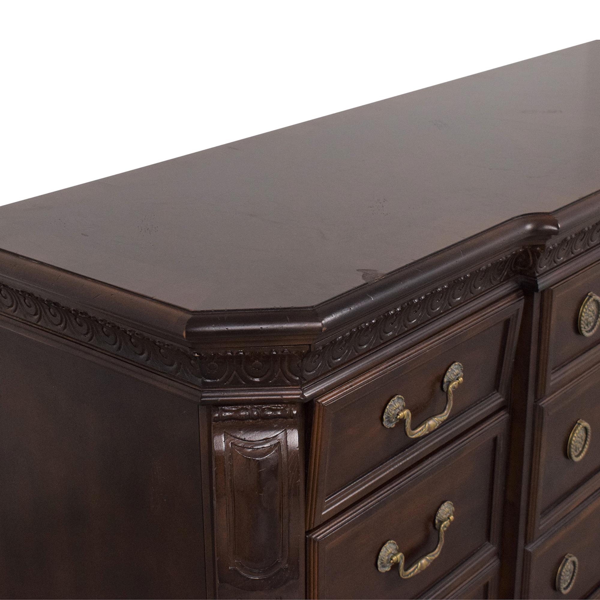 Bernhardt Bernhardt LaScala Triple Dresser dimensions