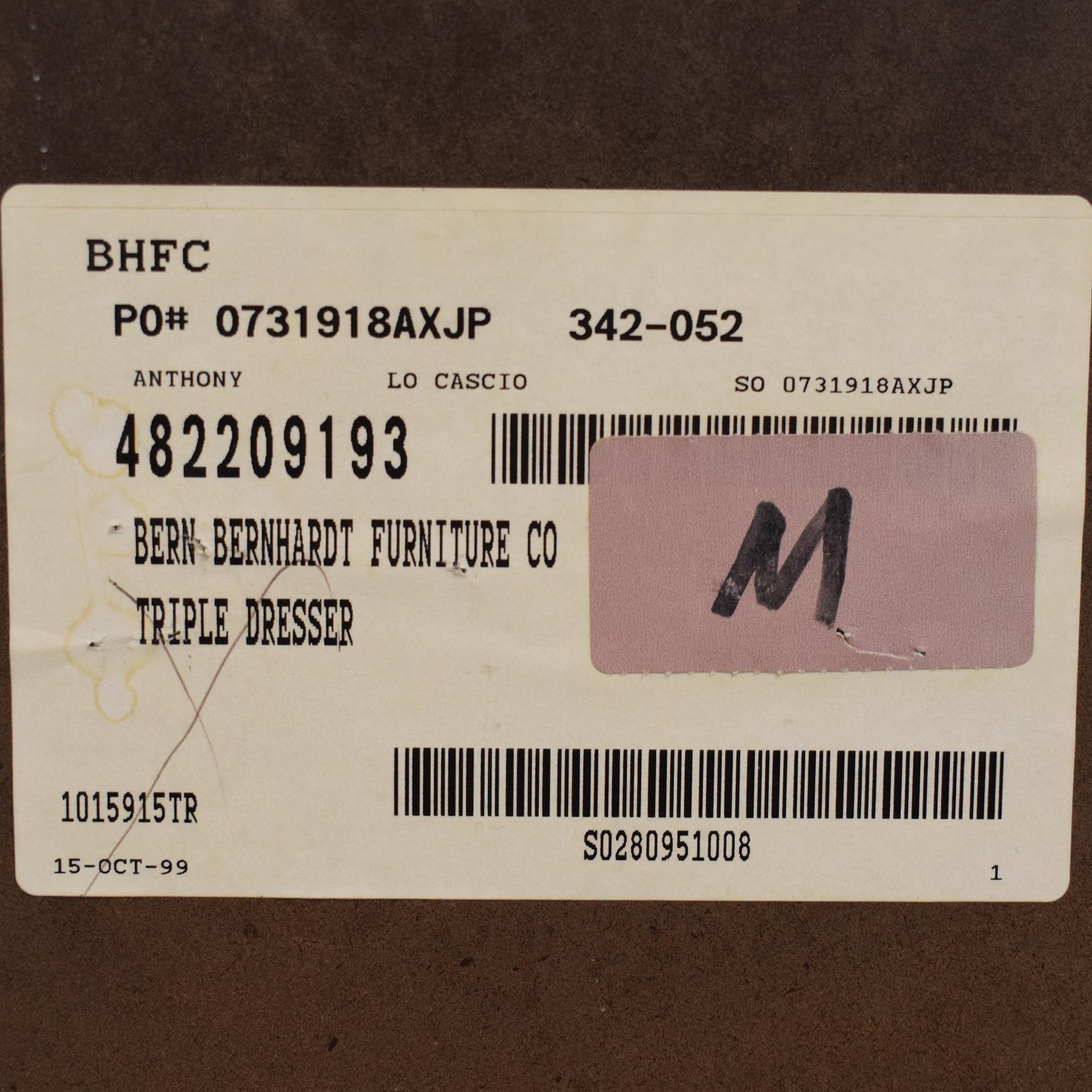 buy Bernhardt LaScala Triple Dresser Bernhardt