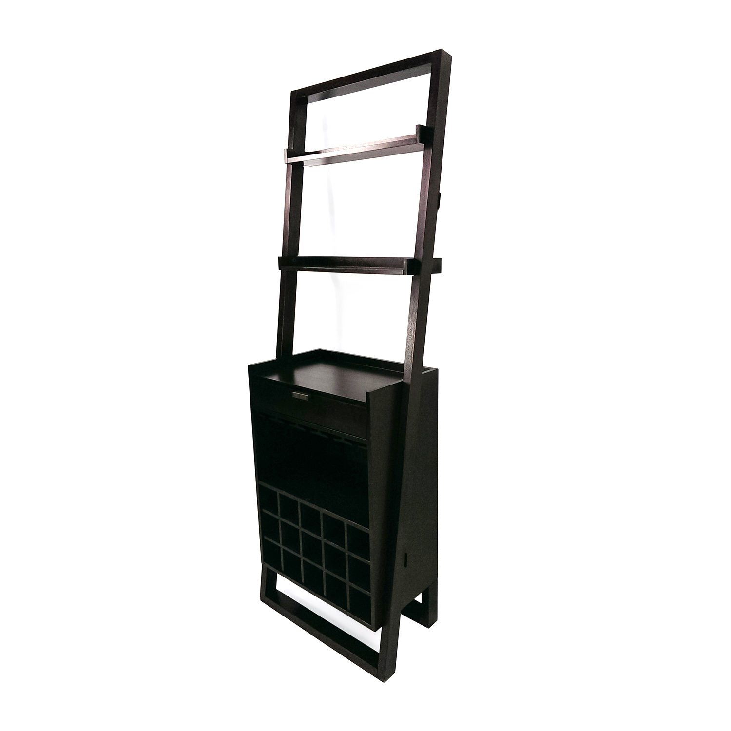 Crate and Barrel Crate and Barrel Leaning Wine Rack Bookcases & Shelving