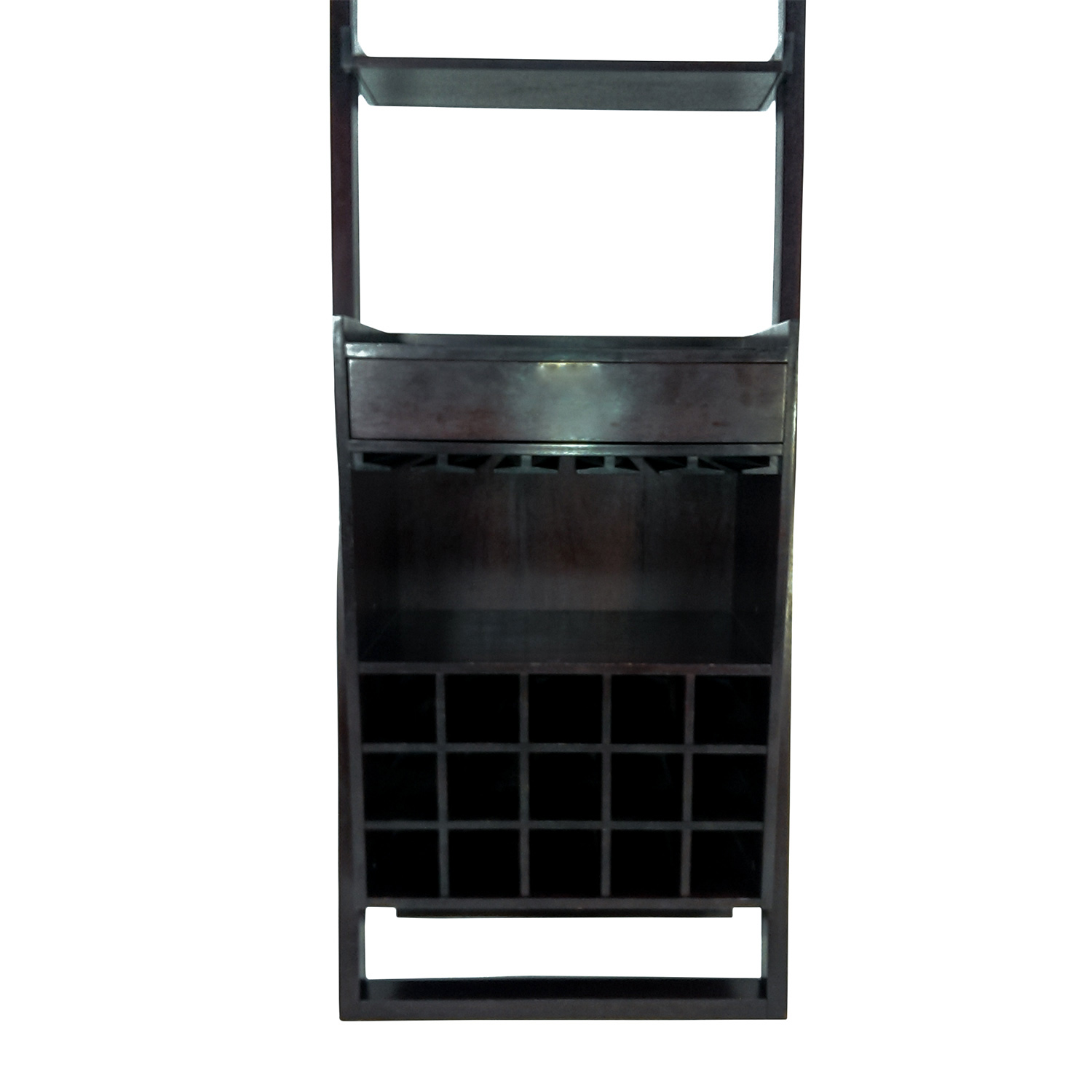 Crate and Barrel Crate and Barrel Leaning Wine Rack
