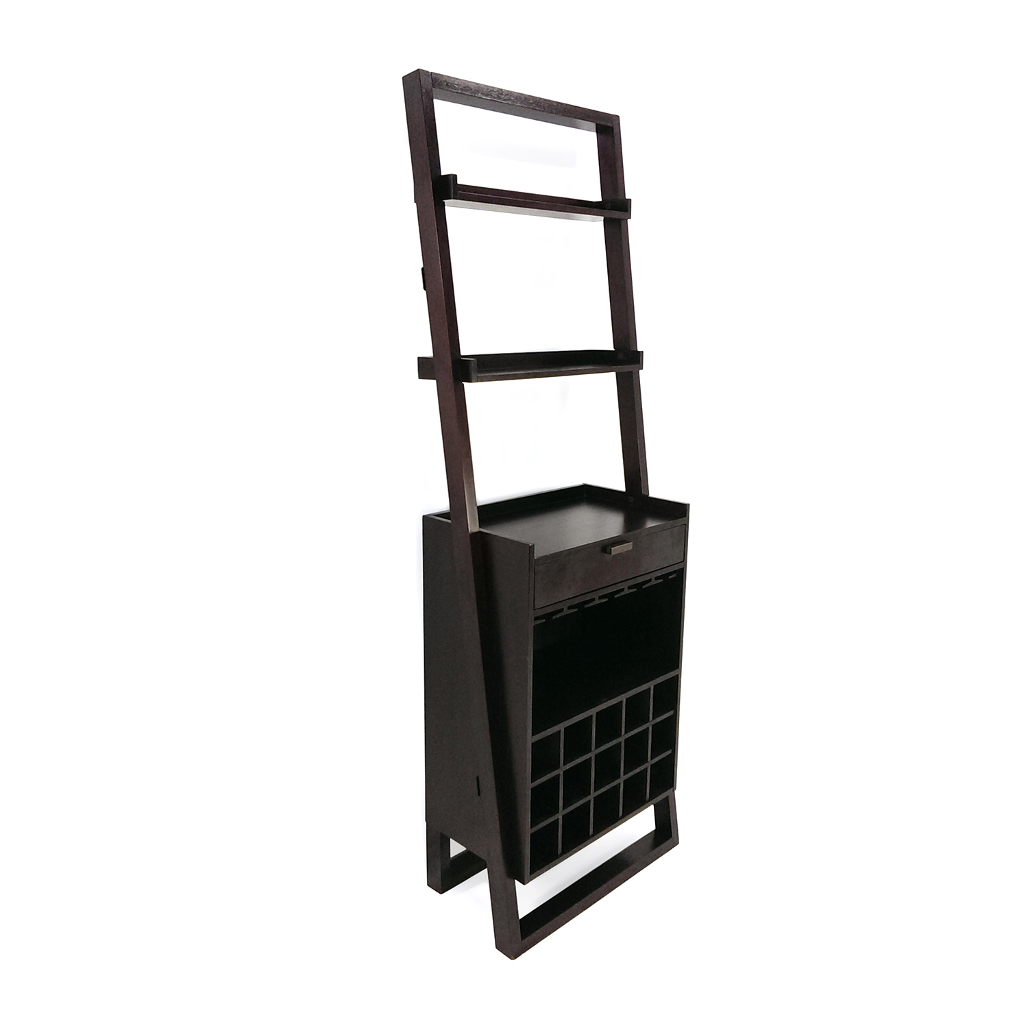 Crate and Barrel Crate and Barrel Leaning Wine Rack second hand