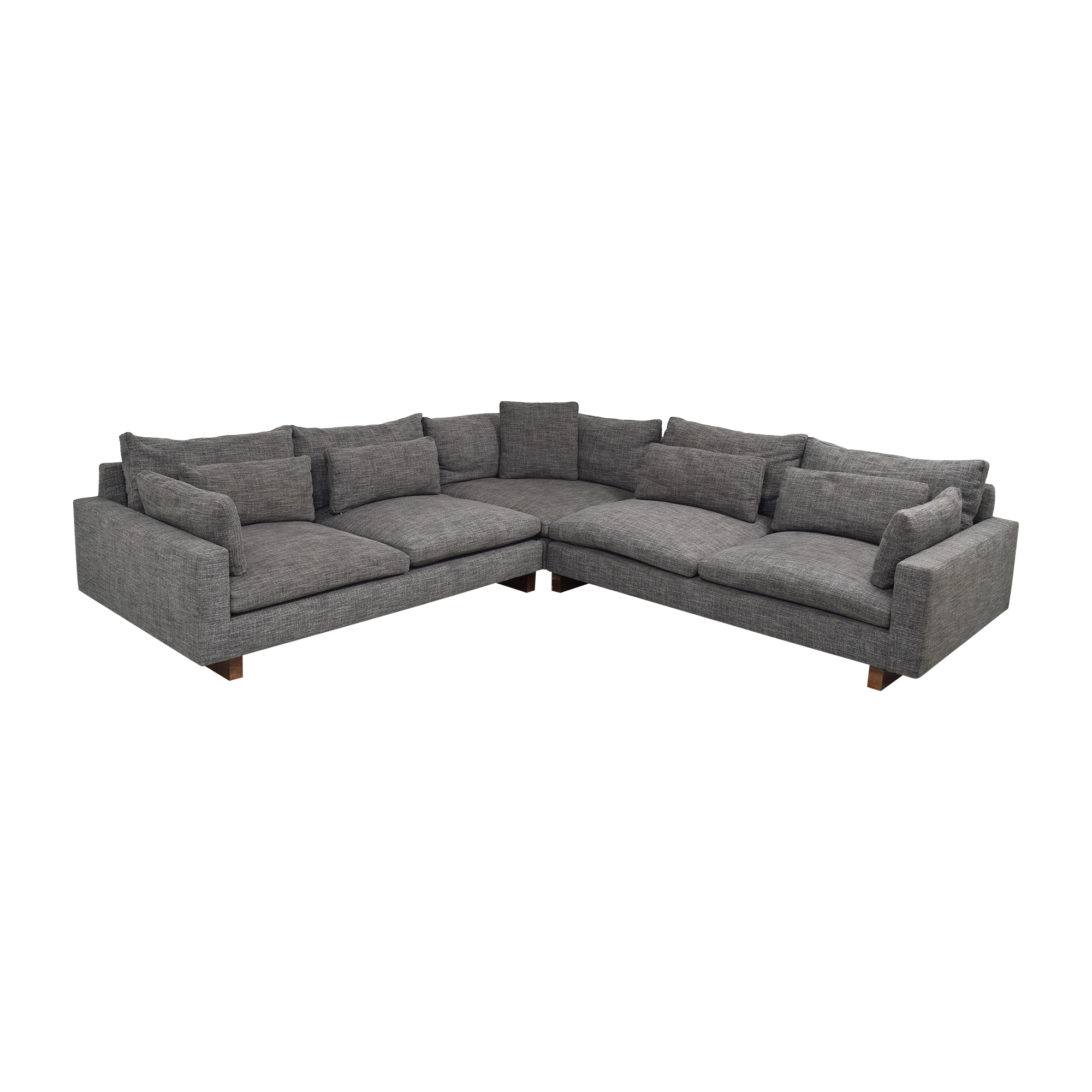 West Elm West Elm Harmony 3-Piece L-Shaped Sectional used