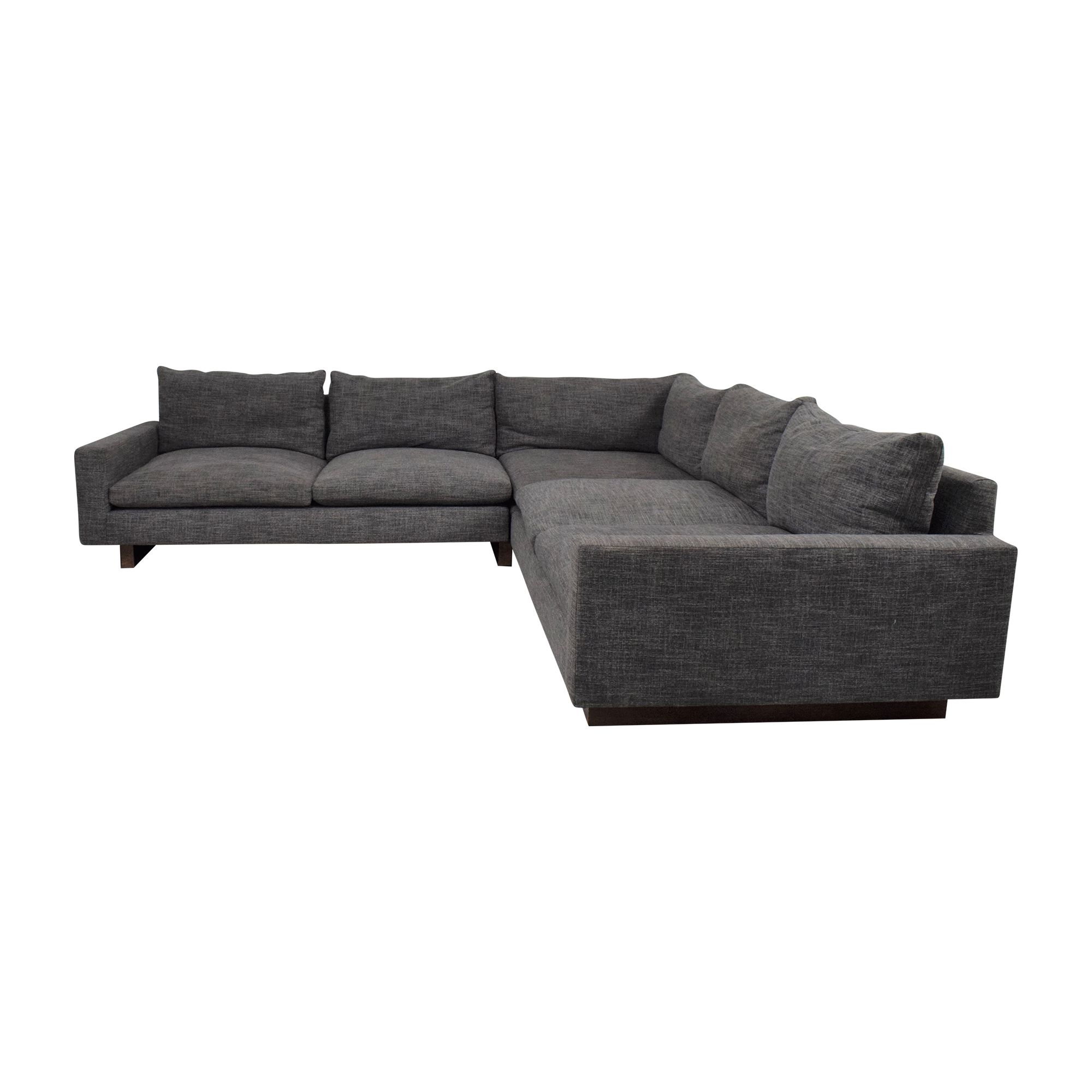 shop West Elm West Elm Harmony 3-Piece L-Shaped Sectional online
