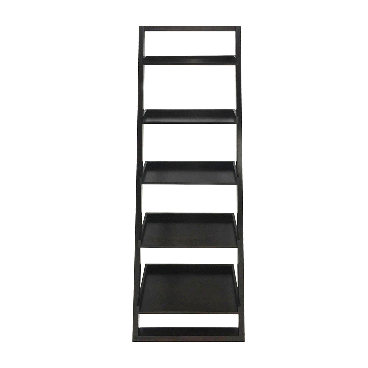 Crate and Barrel Crate & Barrel Wide Leaning Shelves nj