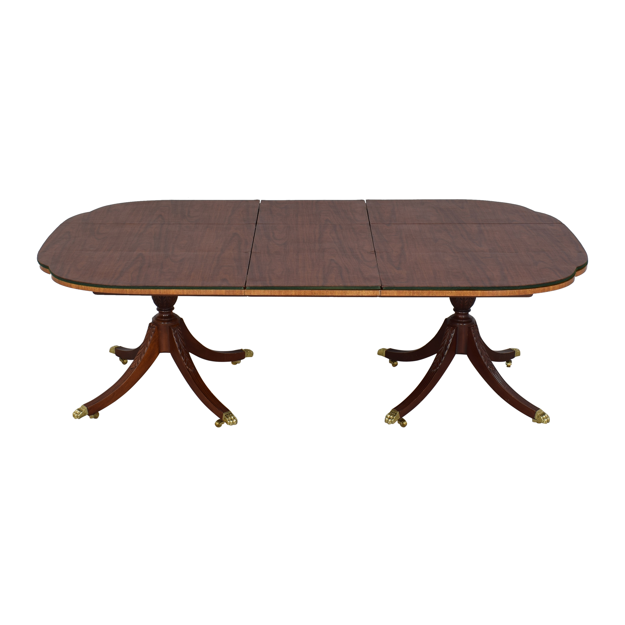 Councill Craftsman Banded Top Dining Table Councill