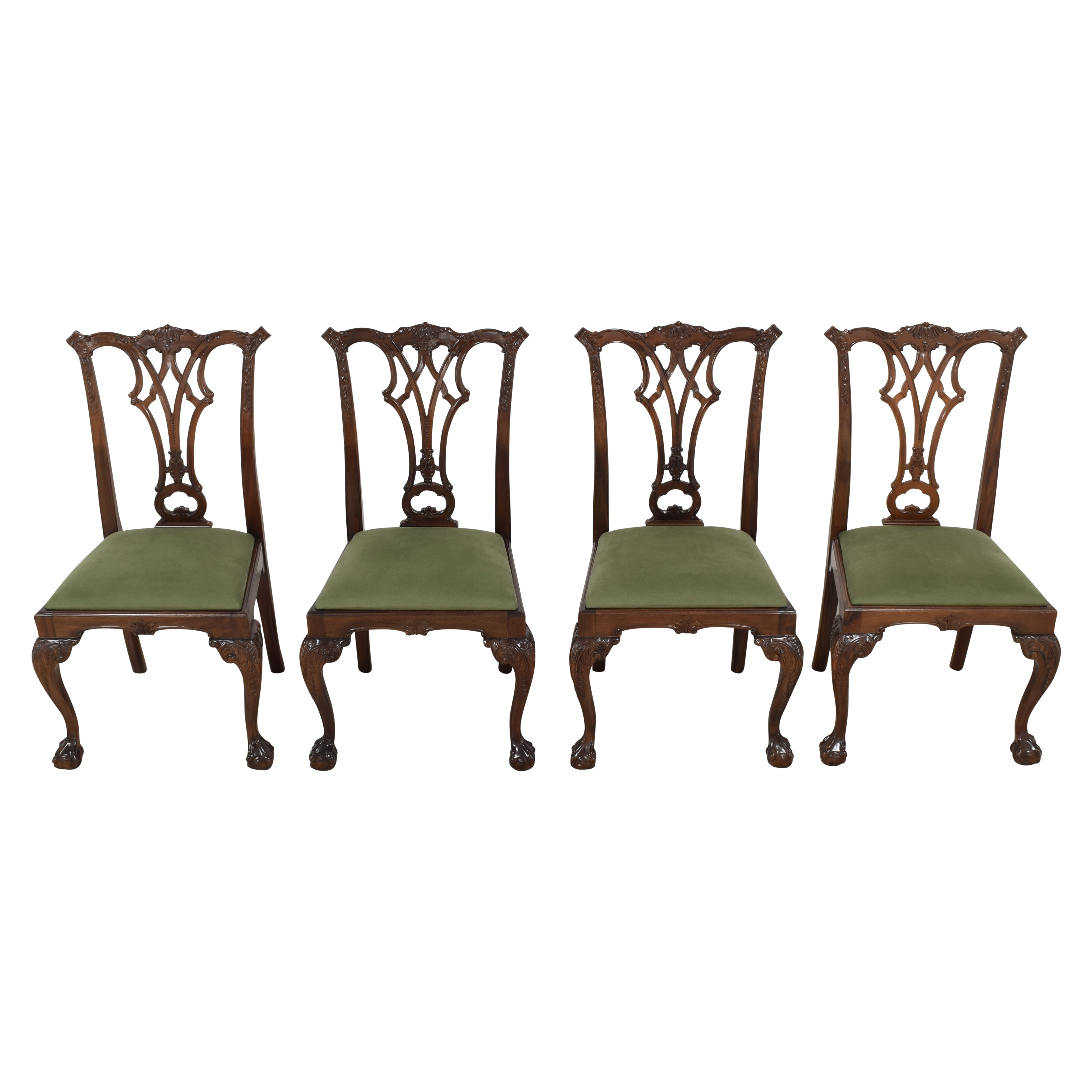 Greenbaum Interiors Queen Anne Style Dining Chairs price