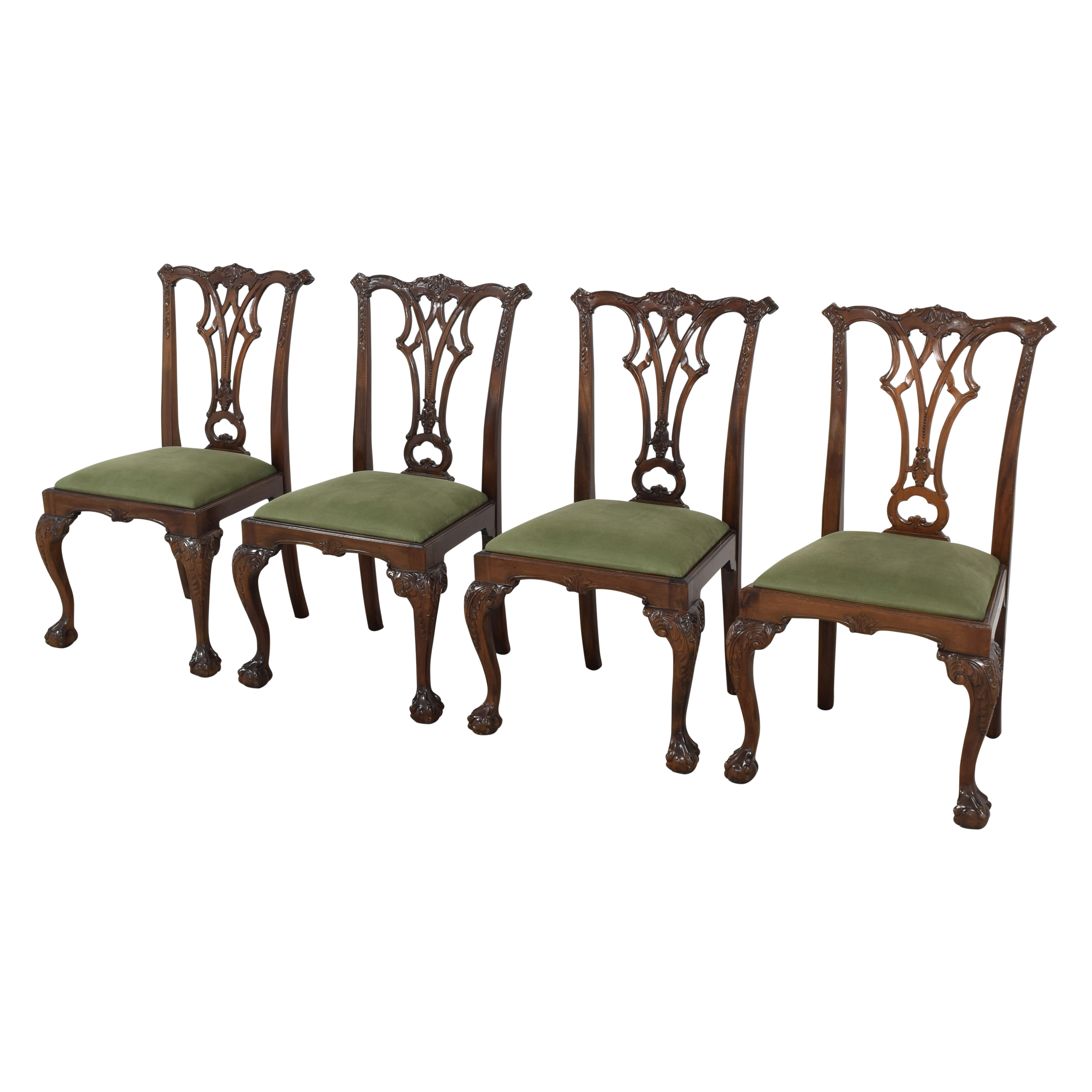 Greenbaum Interiors Queen Anne Style Dining Chairs