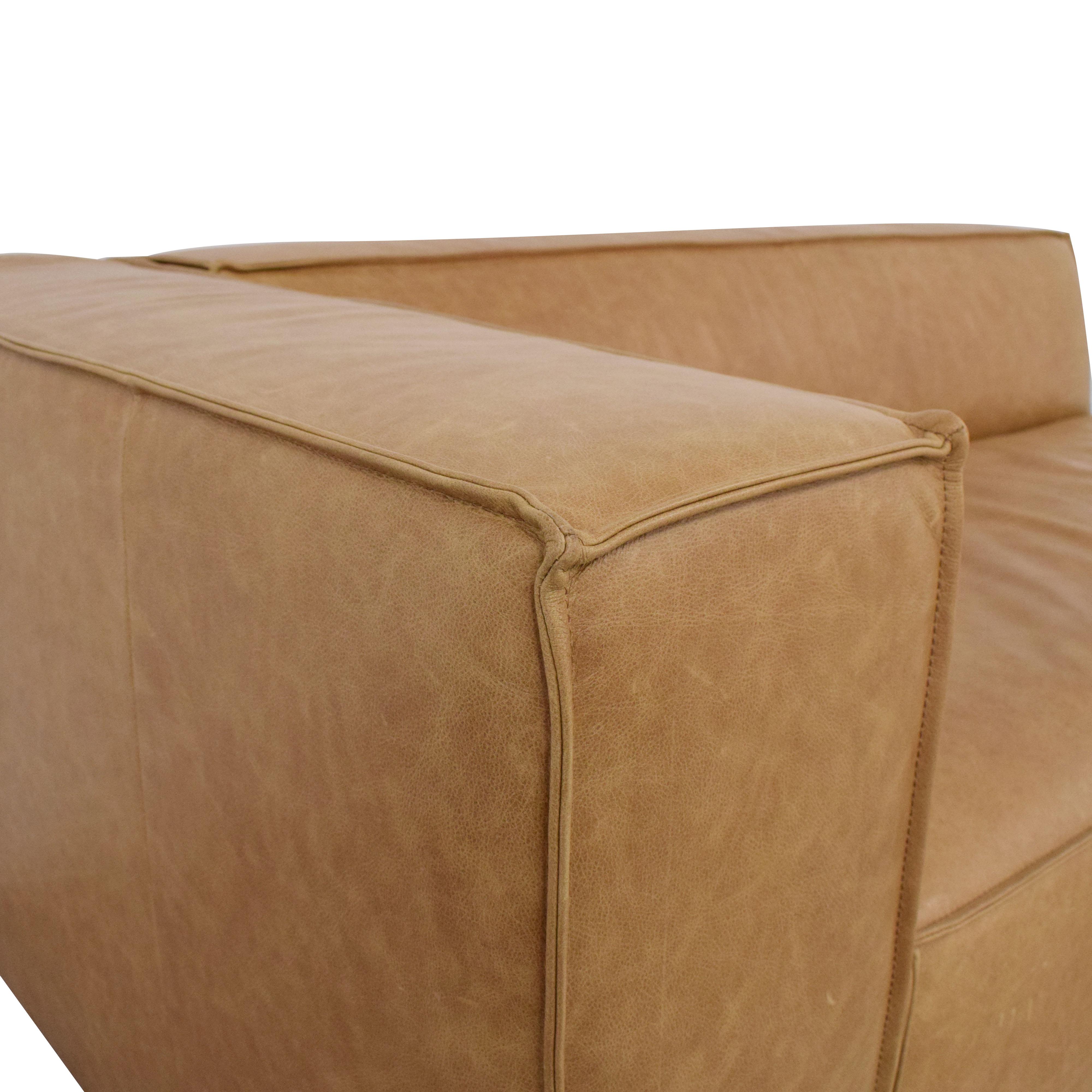Interior Define Interior Define Gray Apartment Sofa used