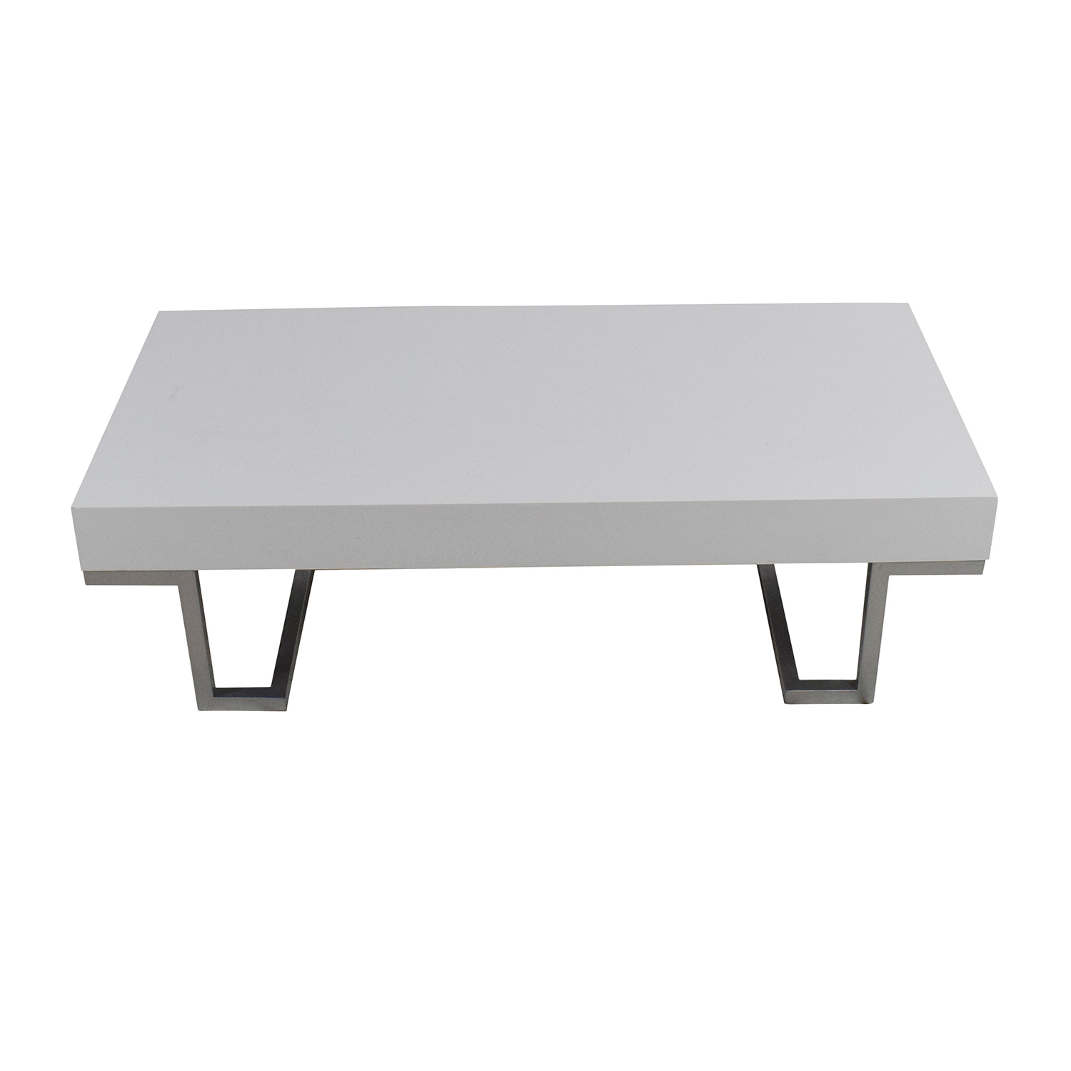 buy White Coffee Table Custom Tables