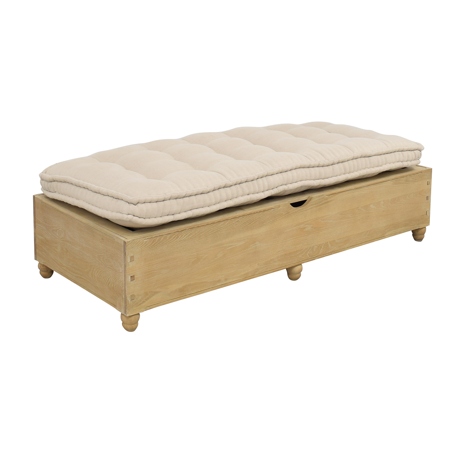 Loaf Loaf Jeepers Twin Daybed with Storage brown & off white