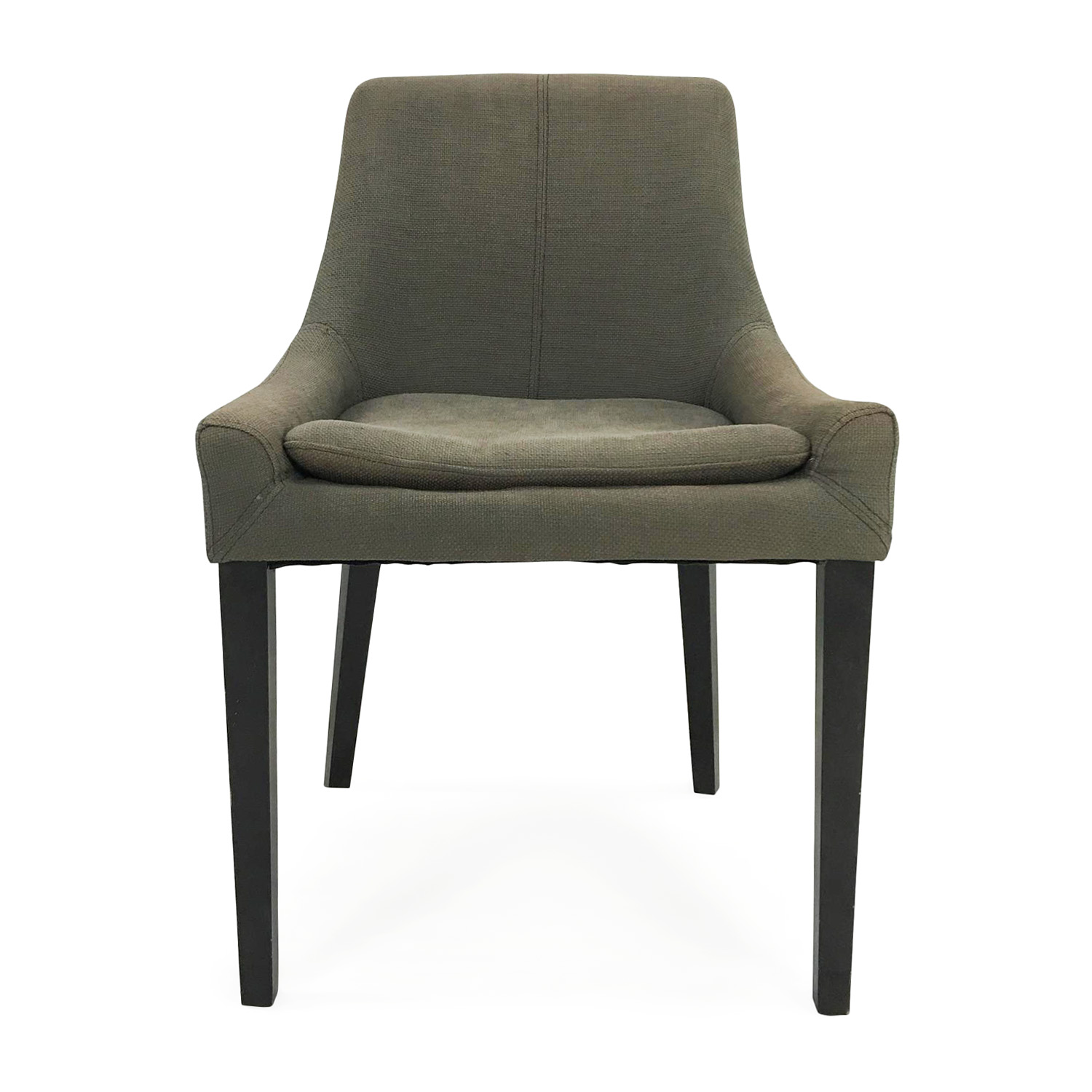 West Elm West Elm Pewter Chair discount