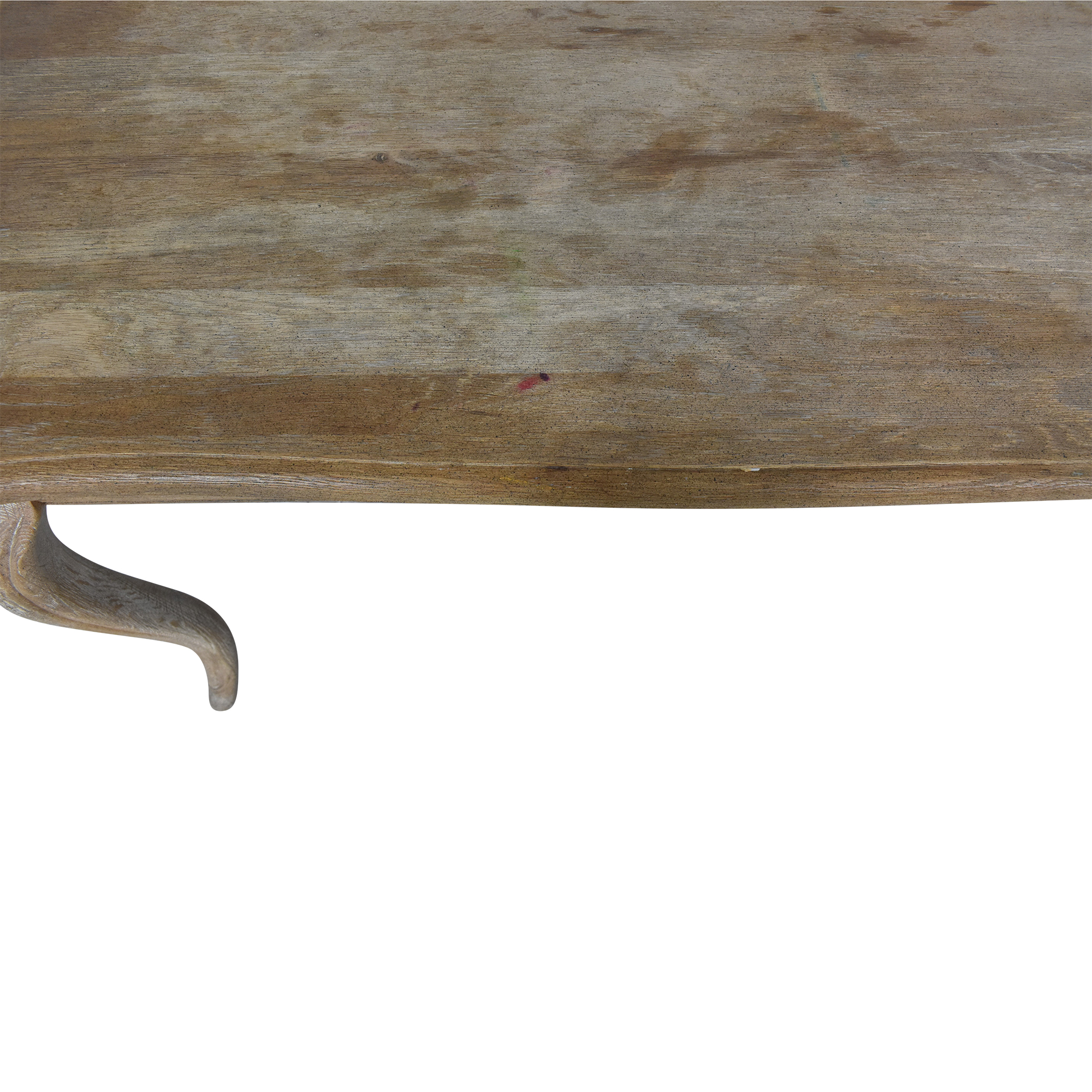shop One Kings Lane Weathered Dining Table One Kings Lane Dinner Tables