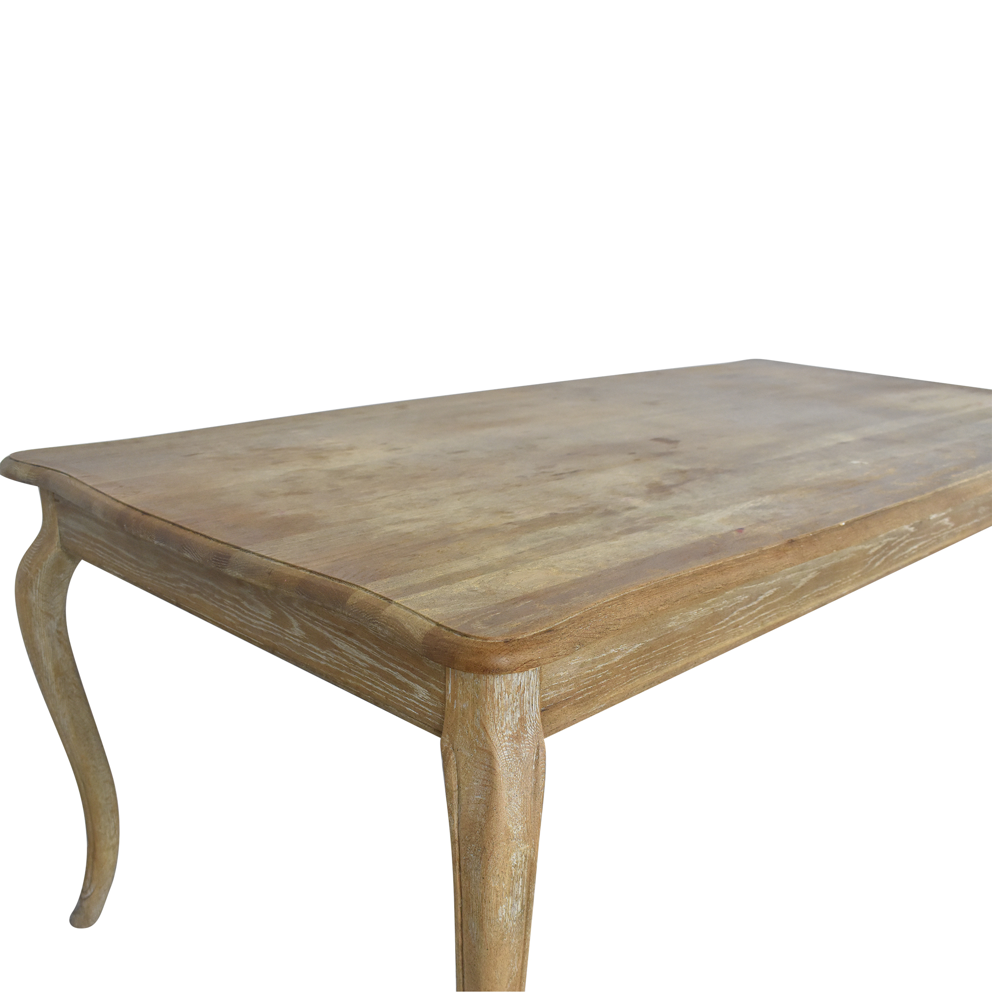 One Kings Lane One Kings Lane Weathered Dining Table second hand