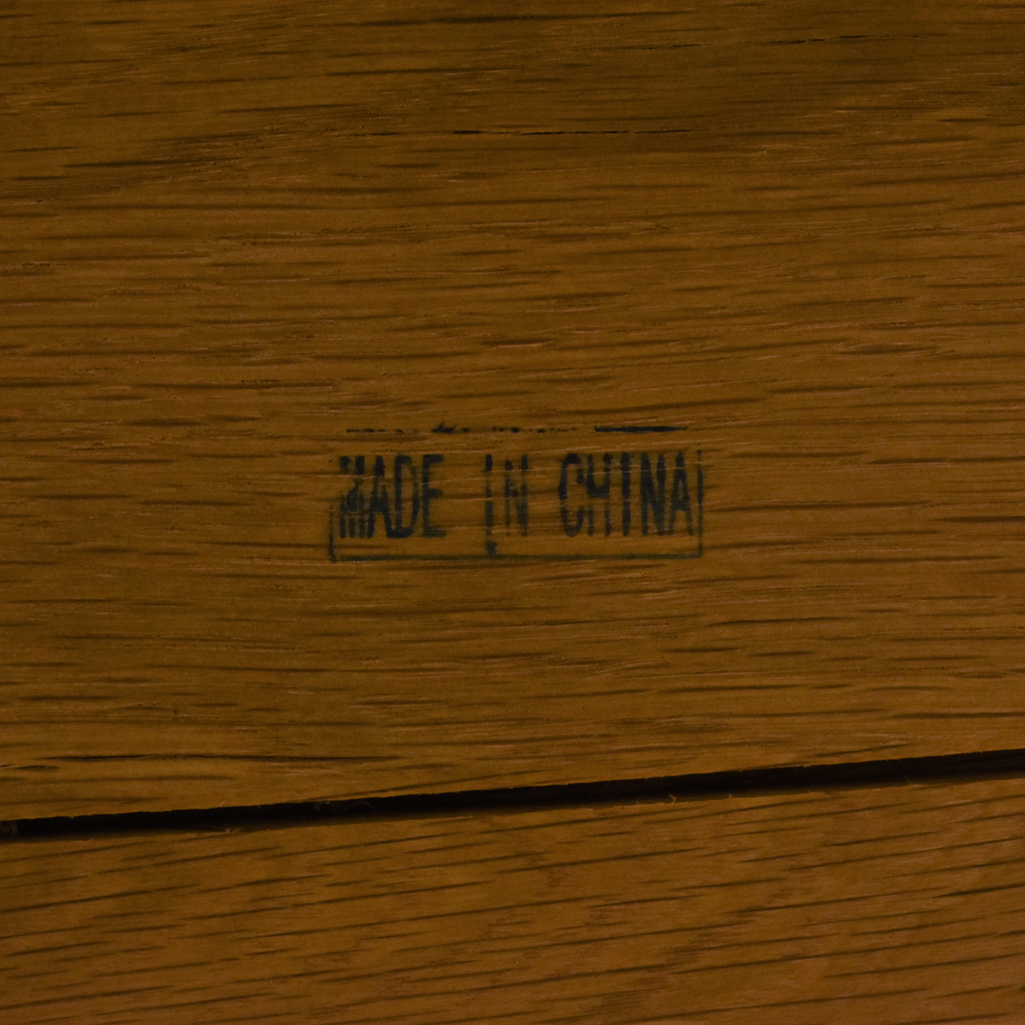 One Kings Lane Weathered Dining Table sale
