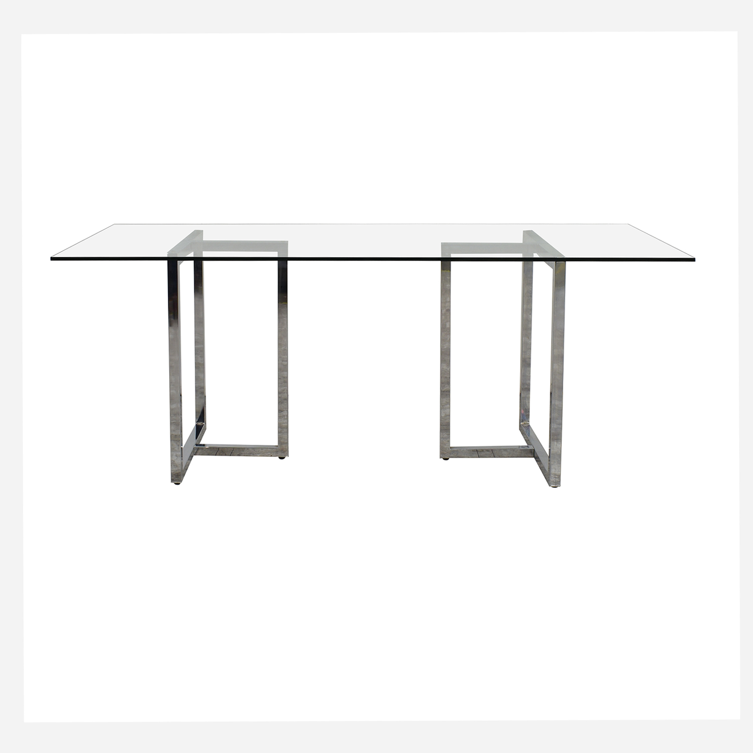 CB2 CB2 Silverado Dining Table on sale