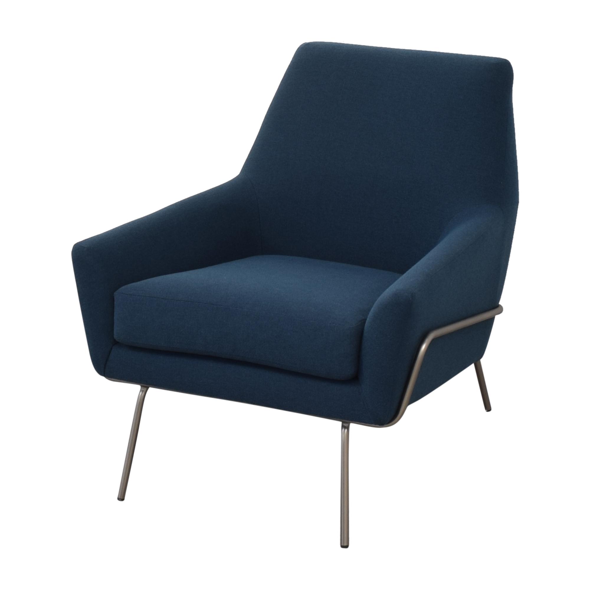 shop West Elm West Elm Lucas Wire Base Chair online