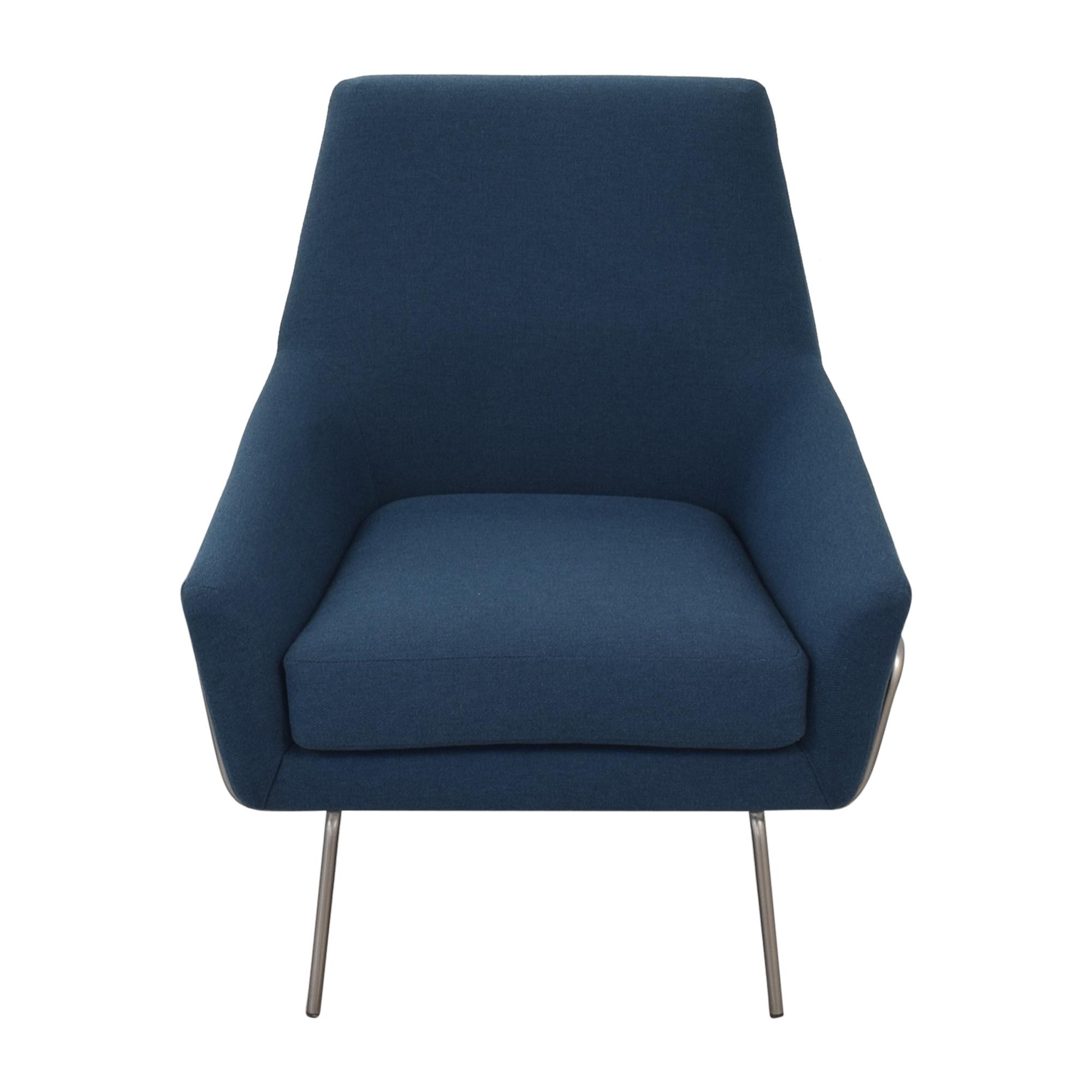 West Elm Lucas Wire Base Chair sale