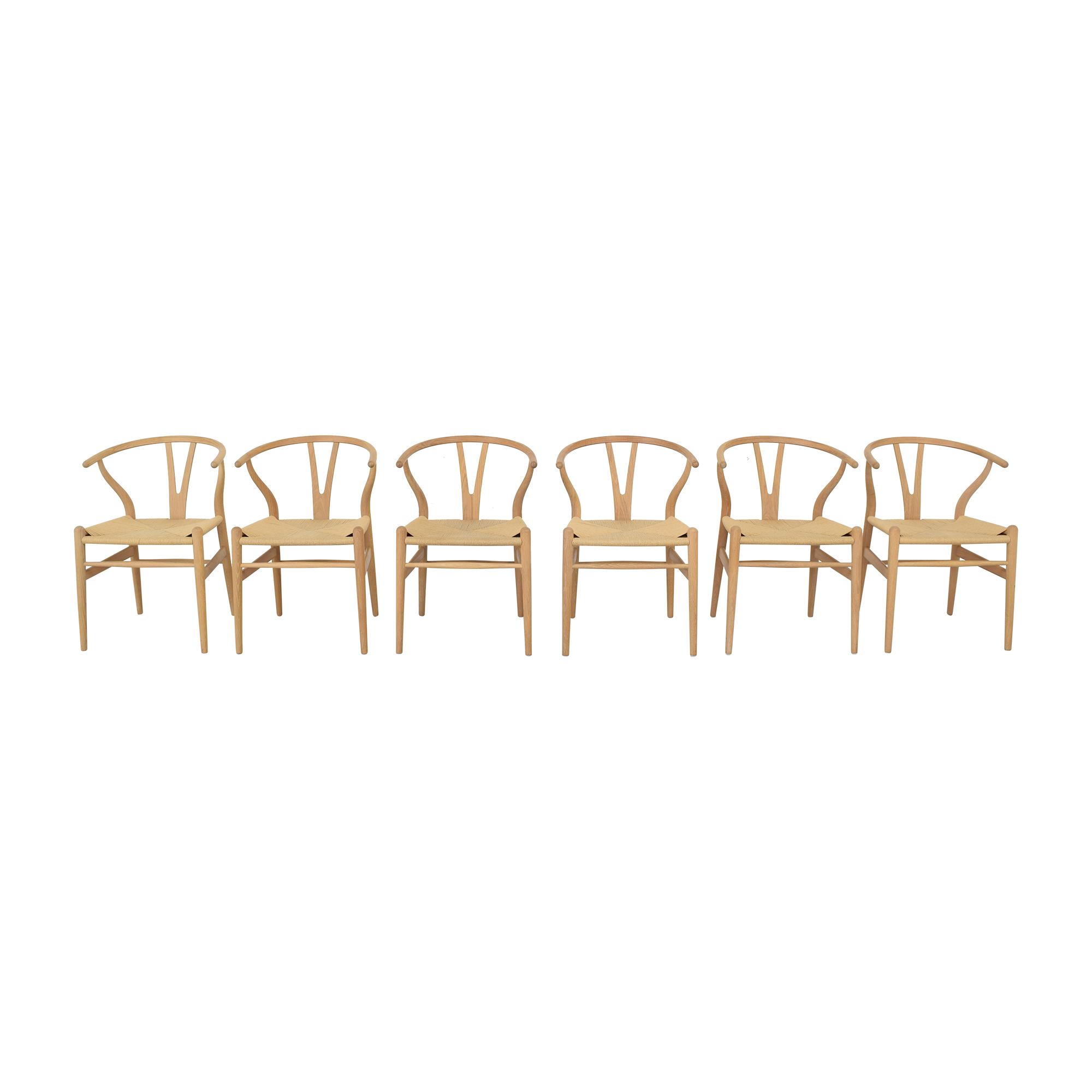 buy Carl Hansen & Son CH24 Wishbone Dining Chairs Carl Hansen & Son